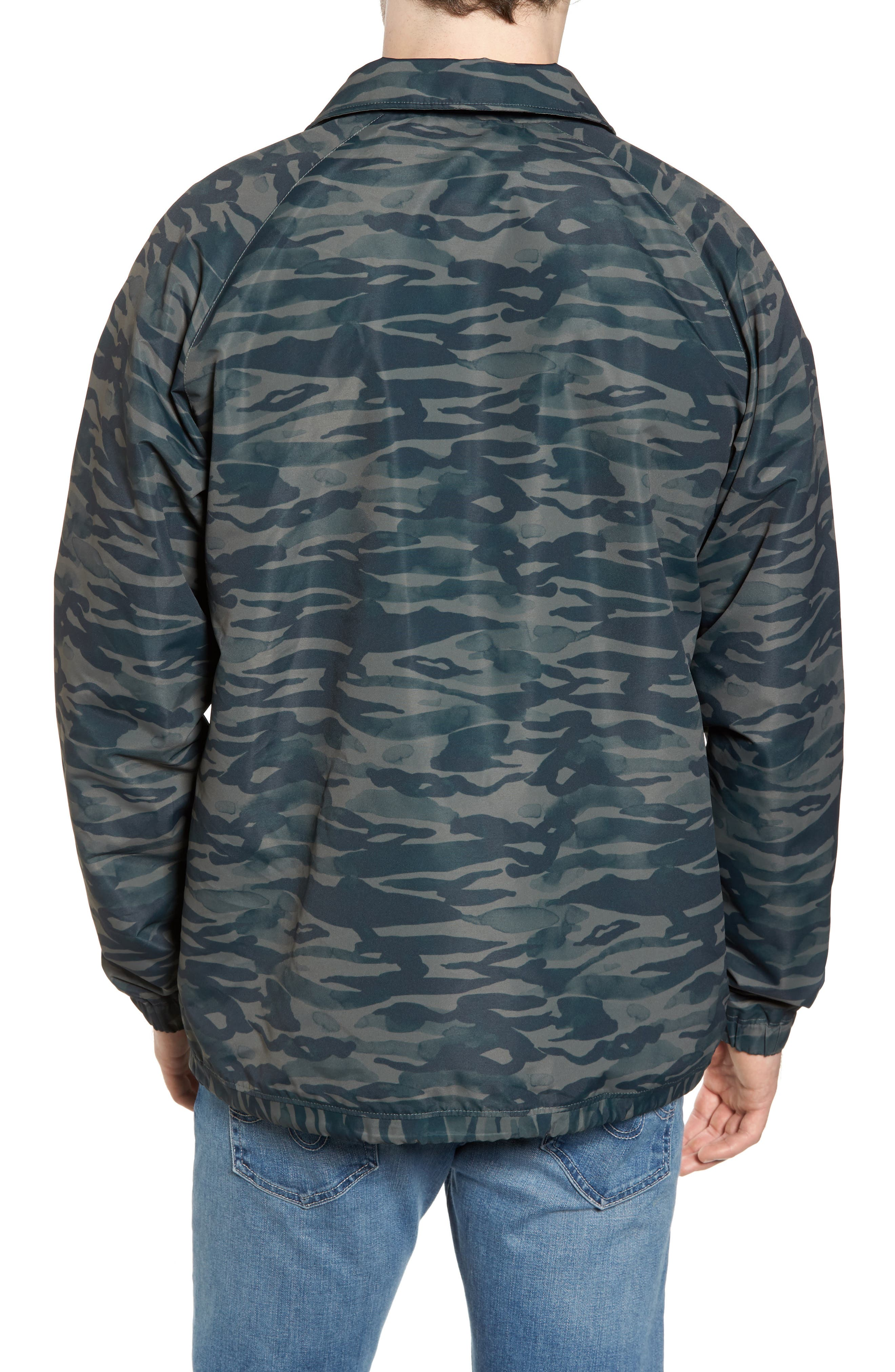 All the Way Coach's Jacket,                             Alternate thumbnail 2, color,                             Camo