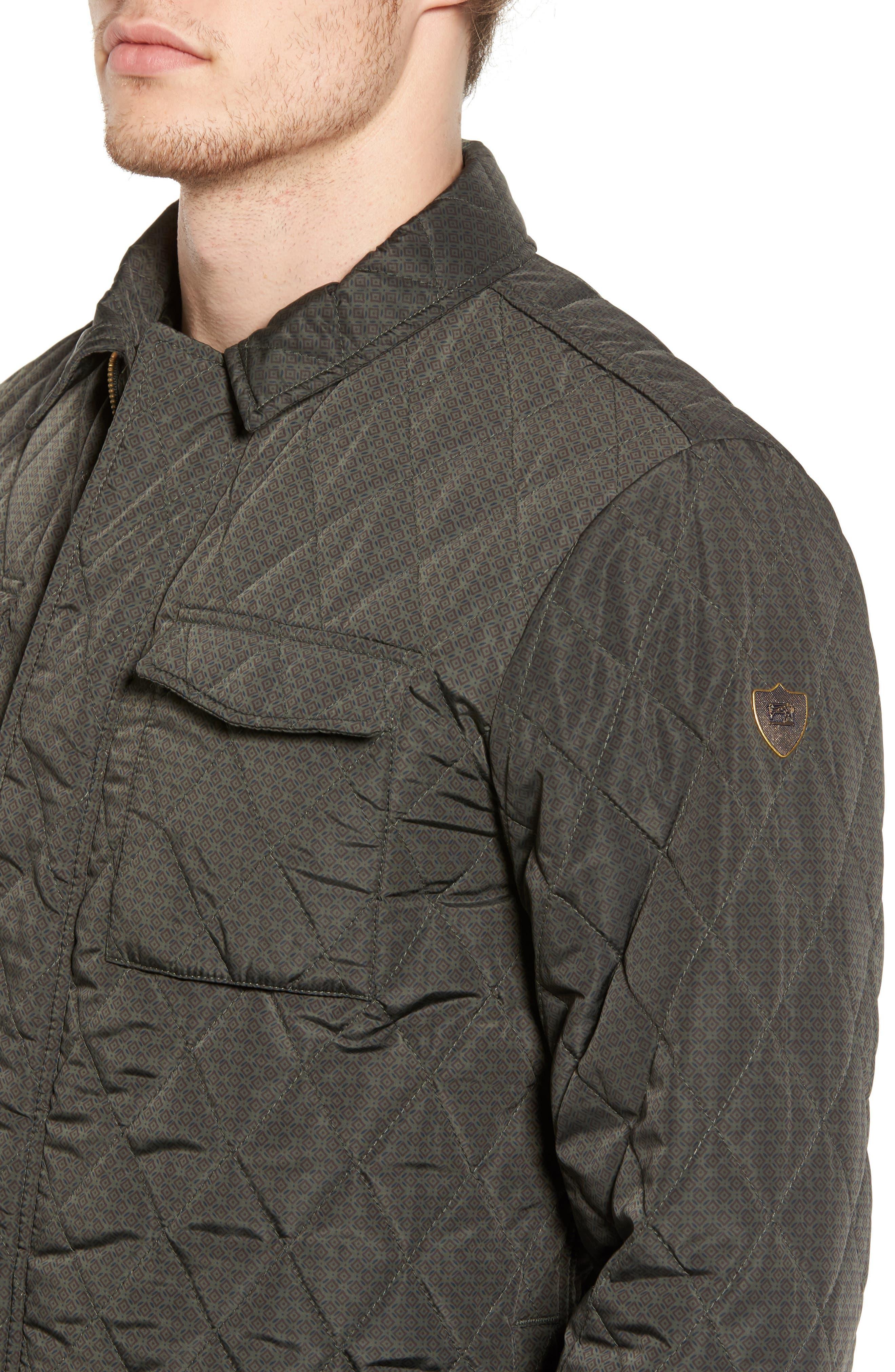 Alternate Image 4  - Scotch & Soda Lightweight Quilted Shirt Jacket