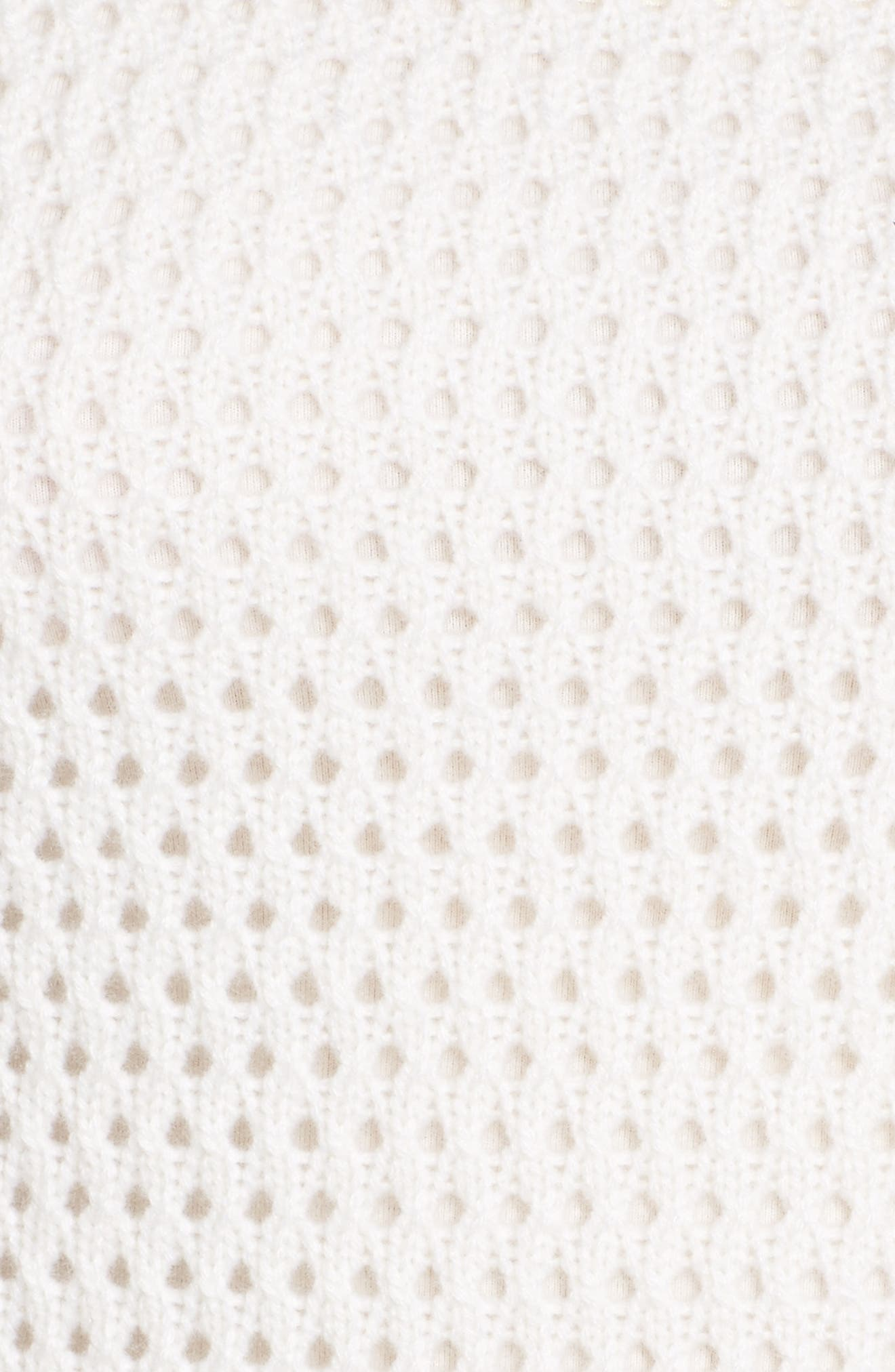 Alternate Image 5  - Nordstrom Signature Mixed Stitch Cashmere Sweater