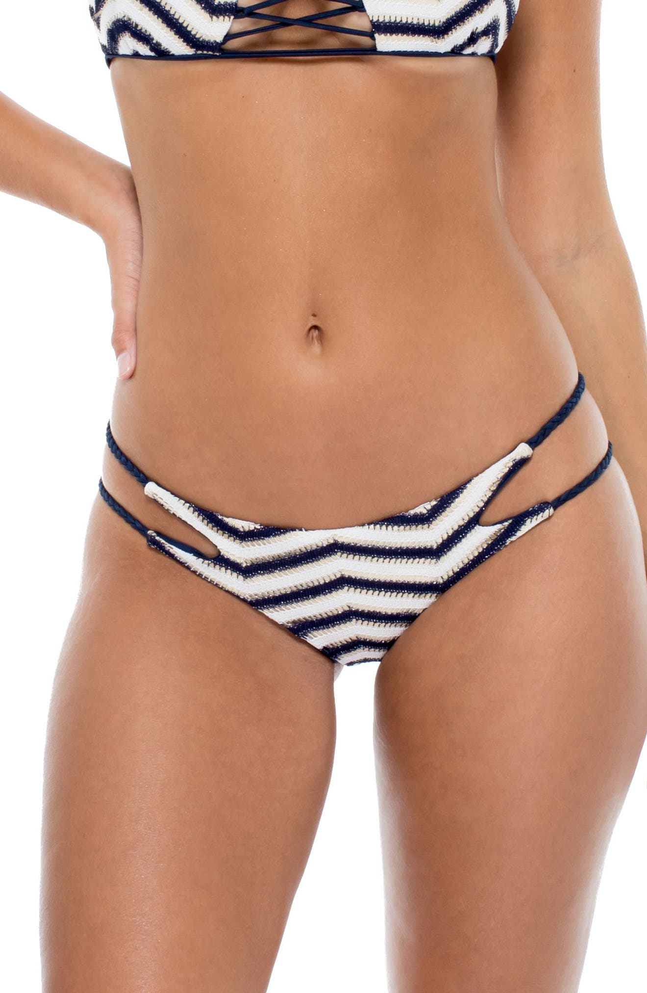 Varadero Bikini Bottoms,                             Alternate thumbnail 2, color,                             Marino Blue