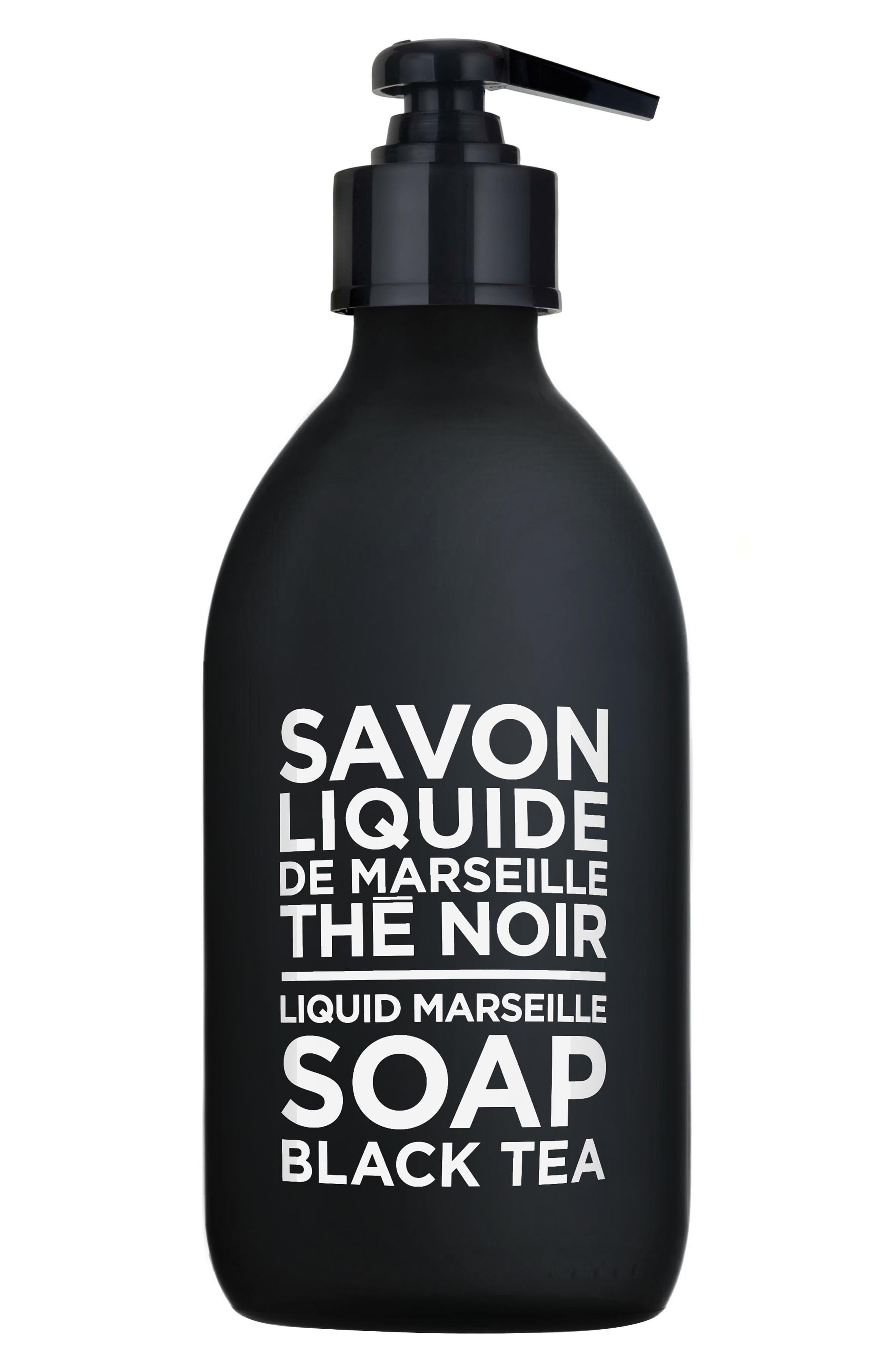 Main Image - Compagnie de Provence Black Tea Liquid Marseille Soap