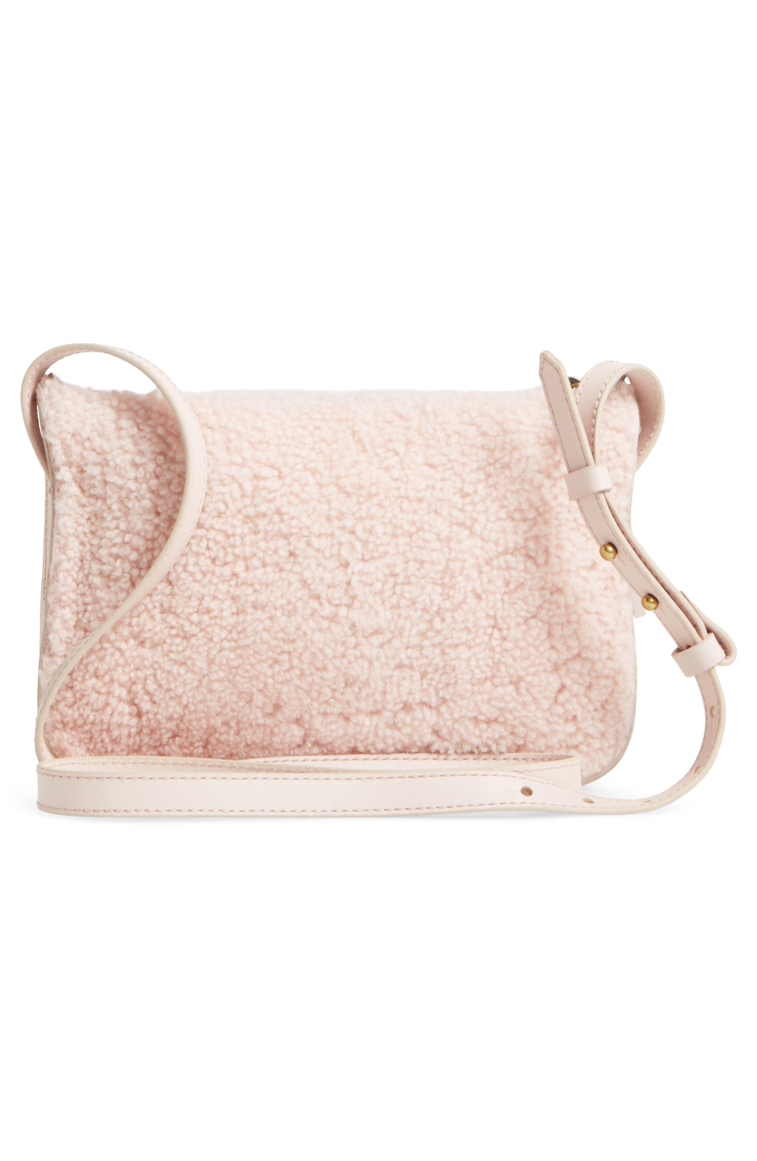 Alternate Image 3  - Madewell Simple Genuine Shearling Crossbody Bag