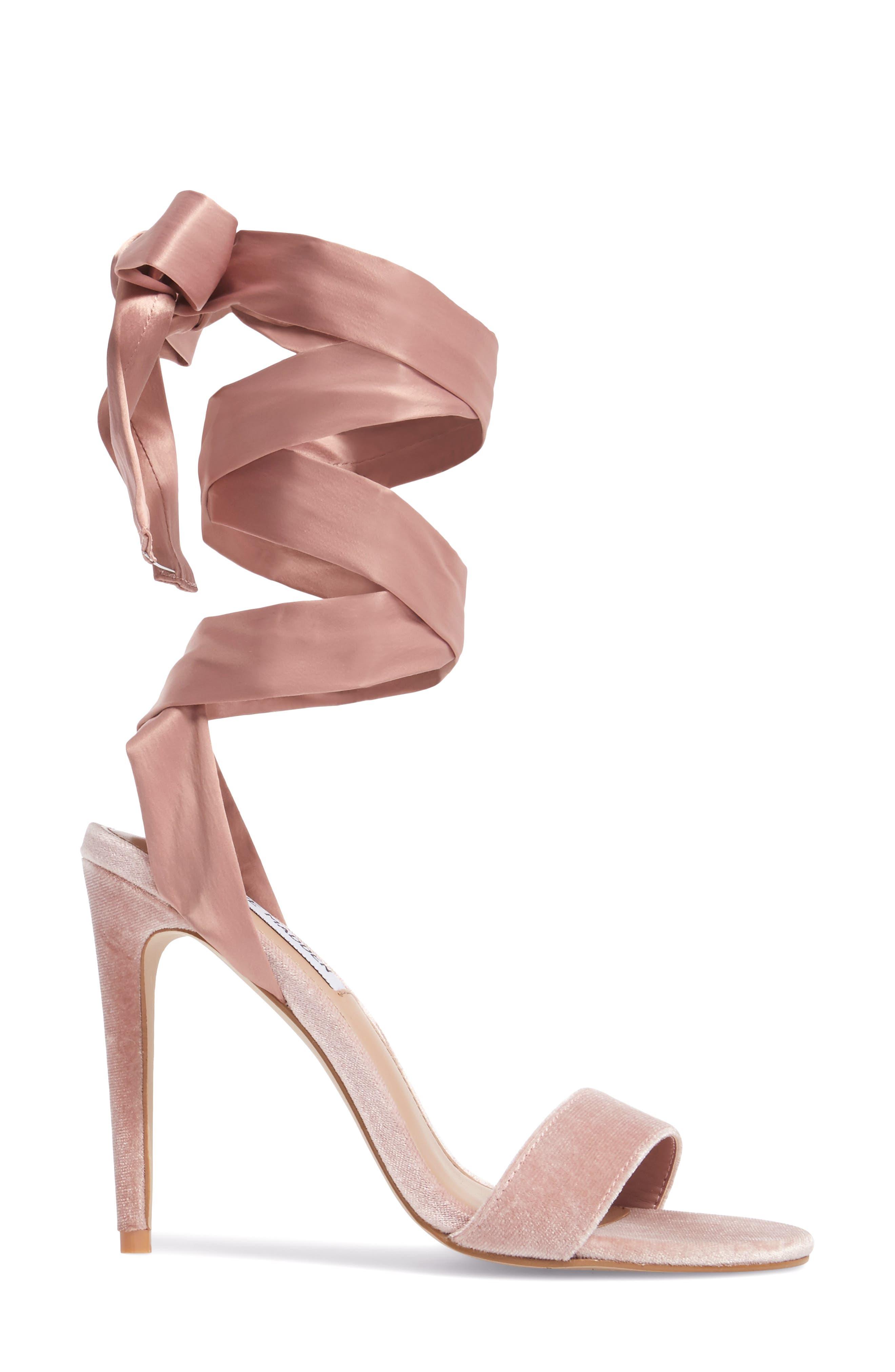 Promise Sandal,                             Alternate thumbnail 3, color,                             Blush Fabric