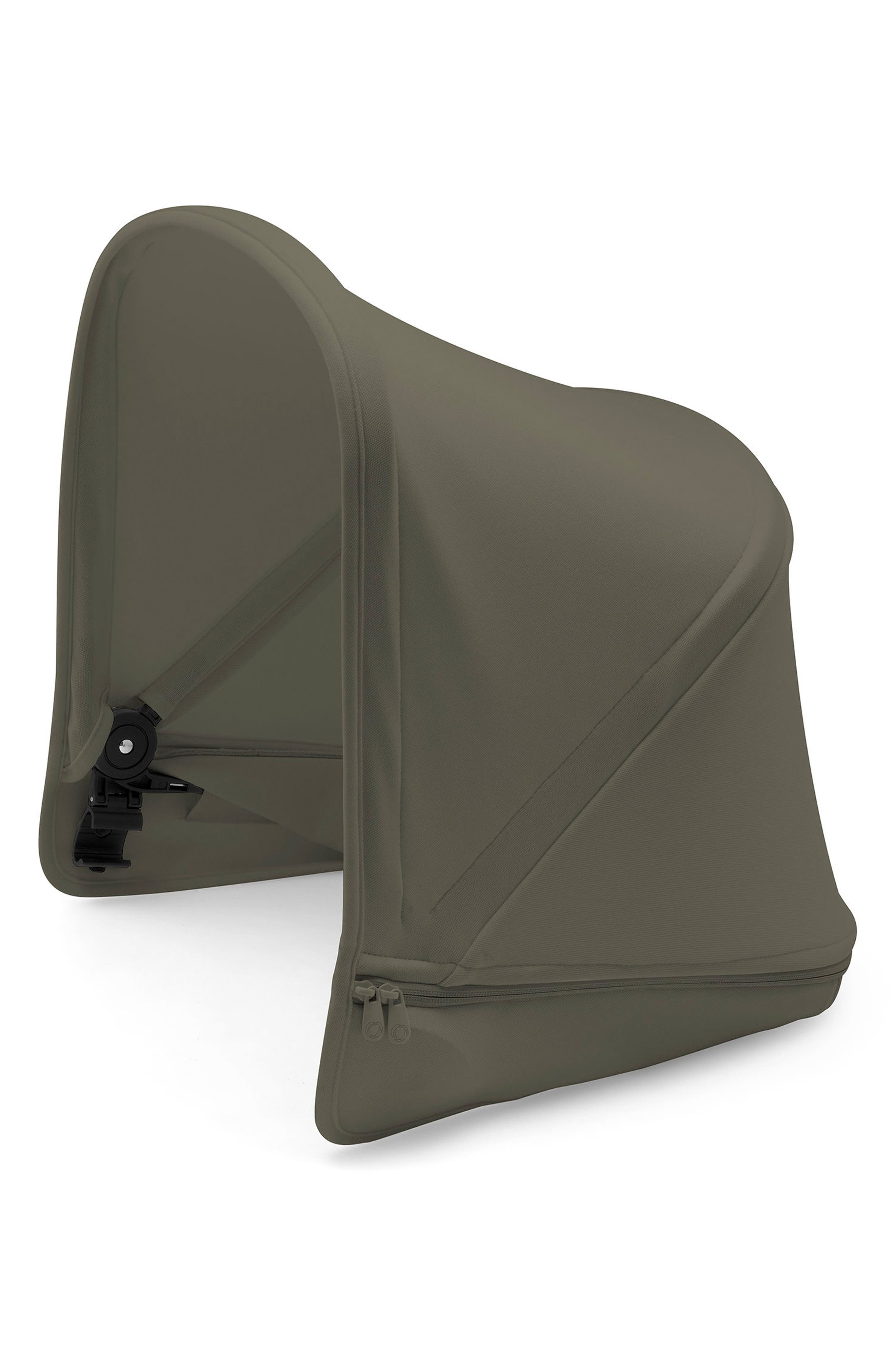 Sun Canopy for Bugaboo Donkey2 Stroller,                             Main thumbnail 1, color,                             Olive Green