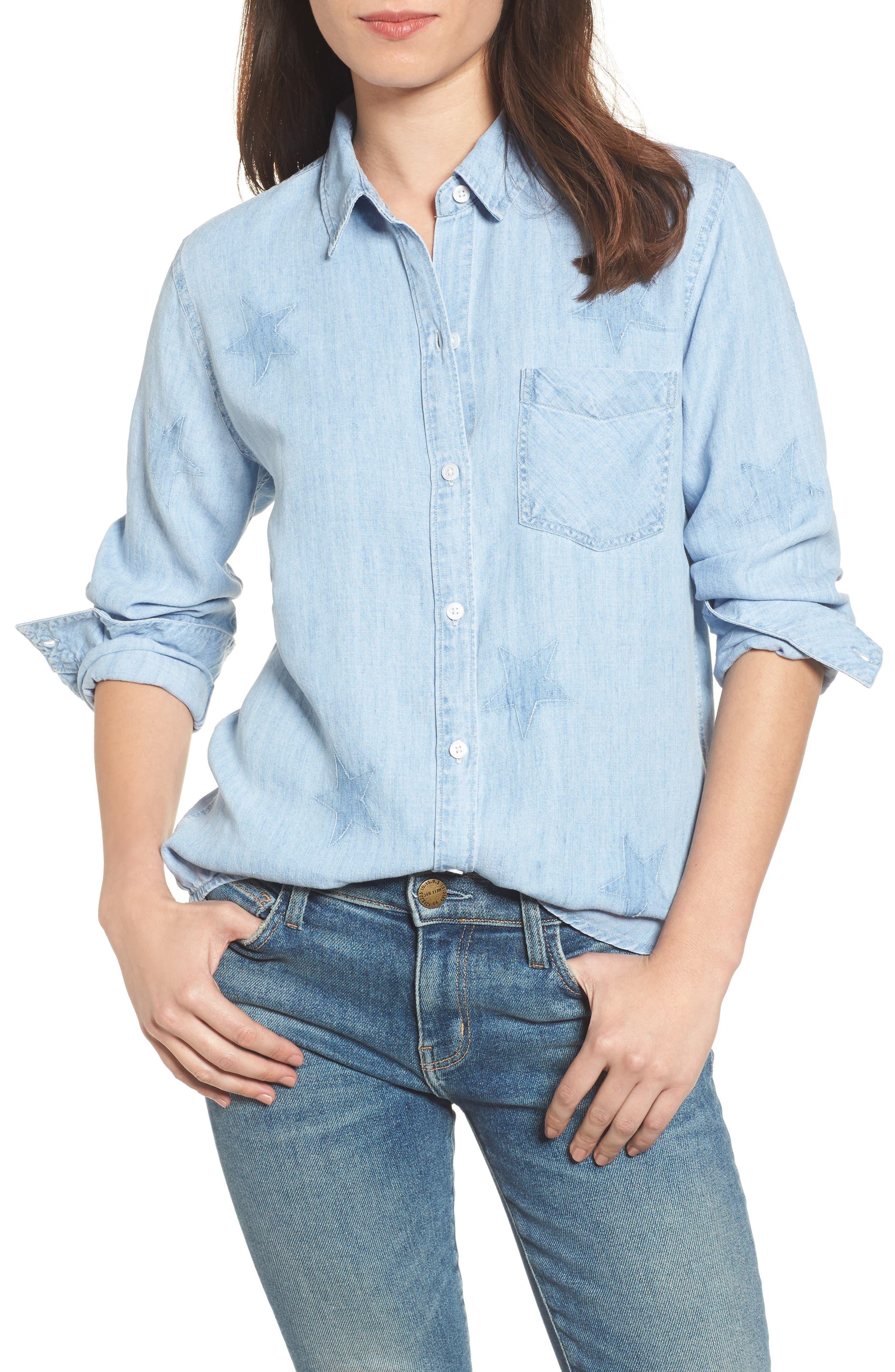 Rails Ingrid Star Shadow Shirt