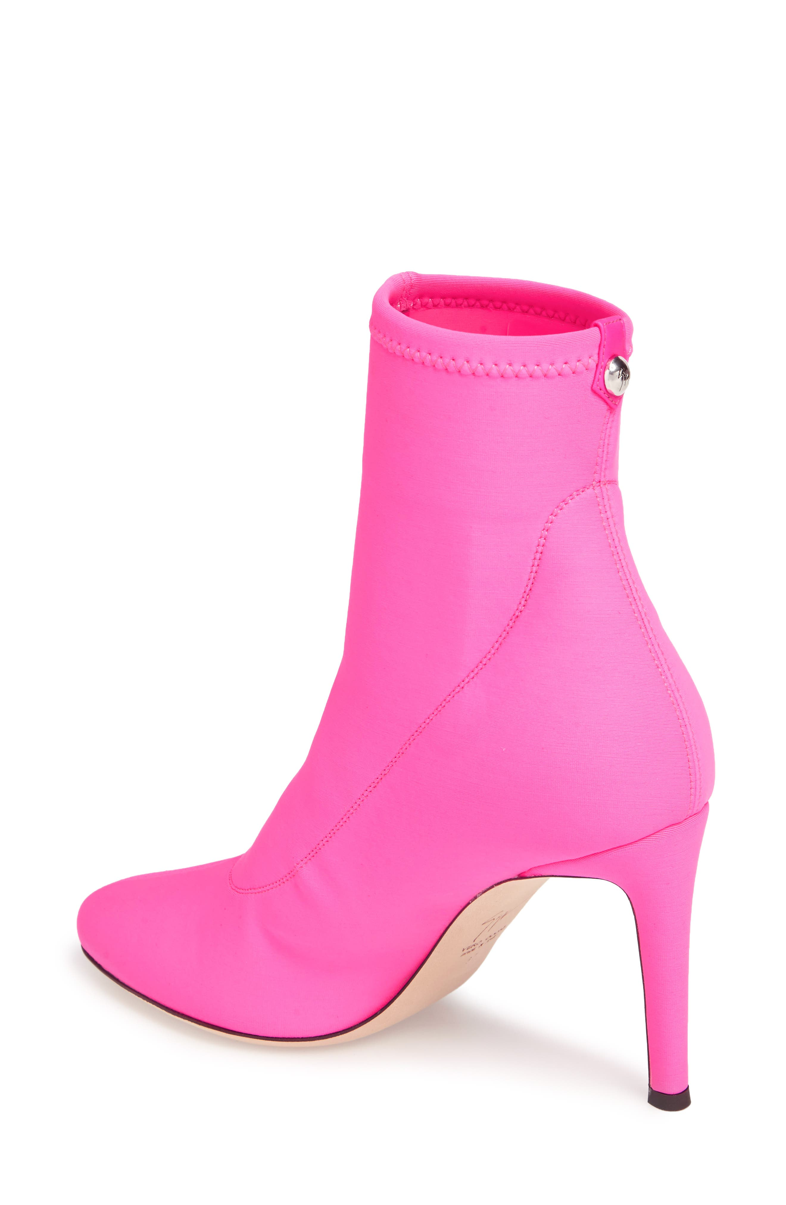 Bimba Stretch Bootie,                             Alternate thumbnail 2, color,                             Pink