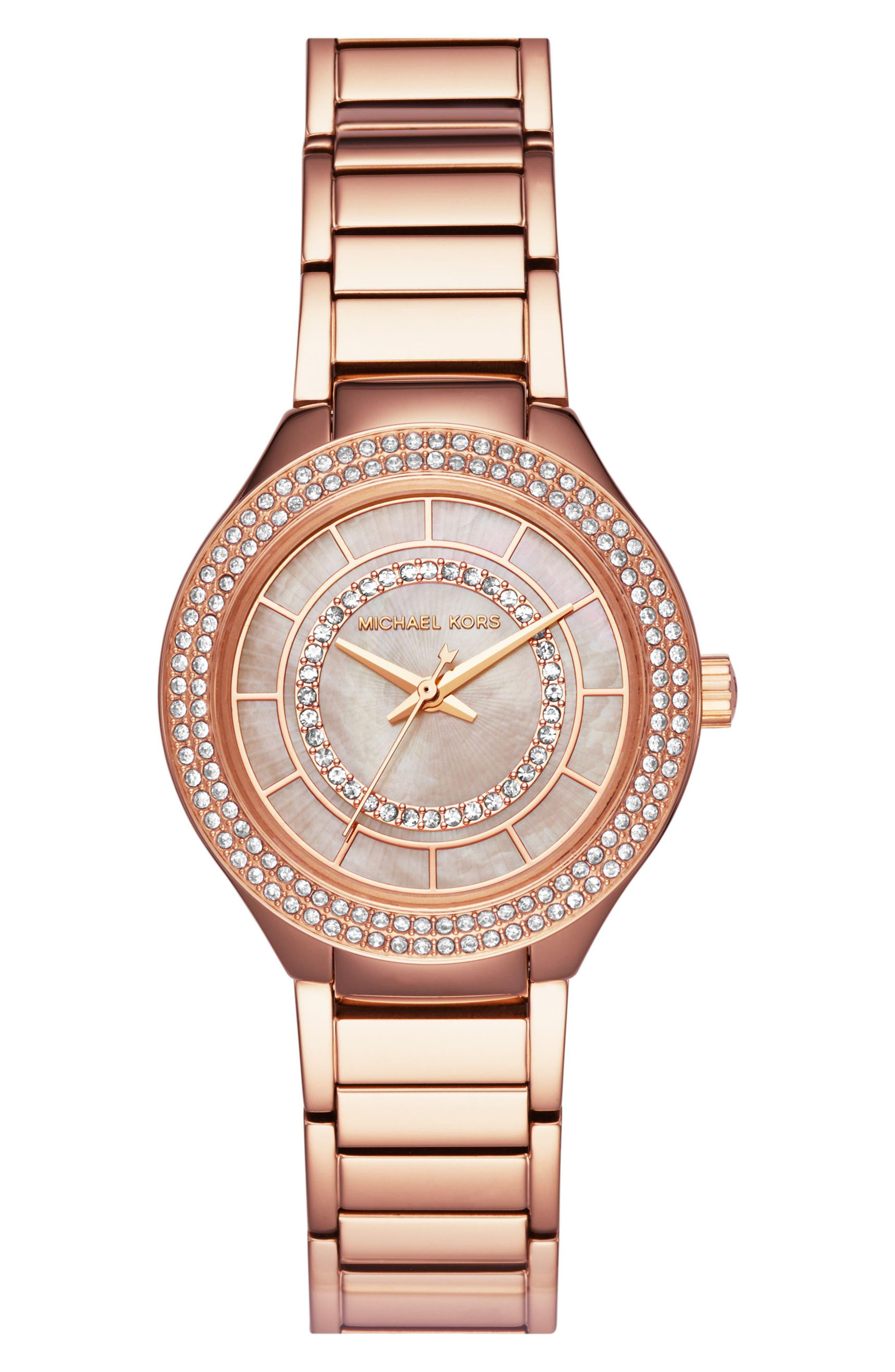 MICHAEL Michael Kors Kerry Bracelet Watch, 33mm