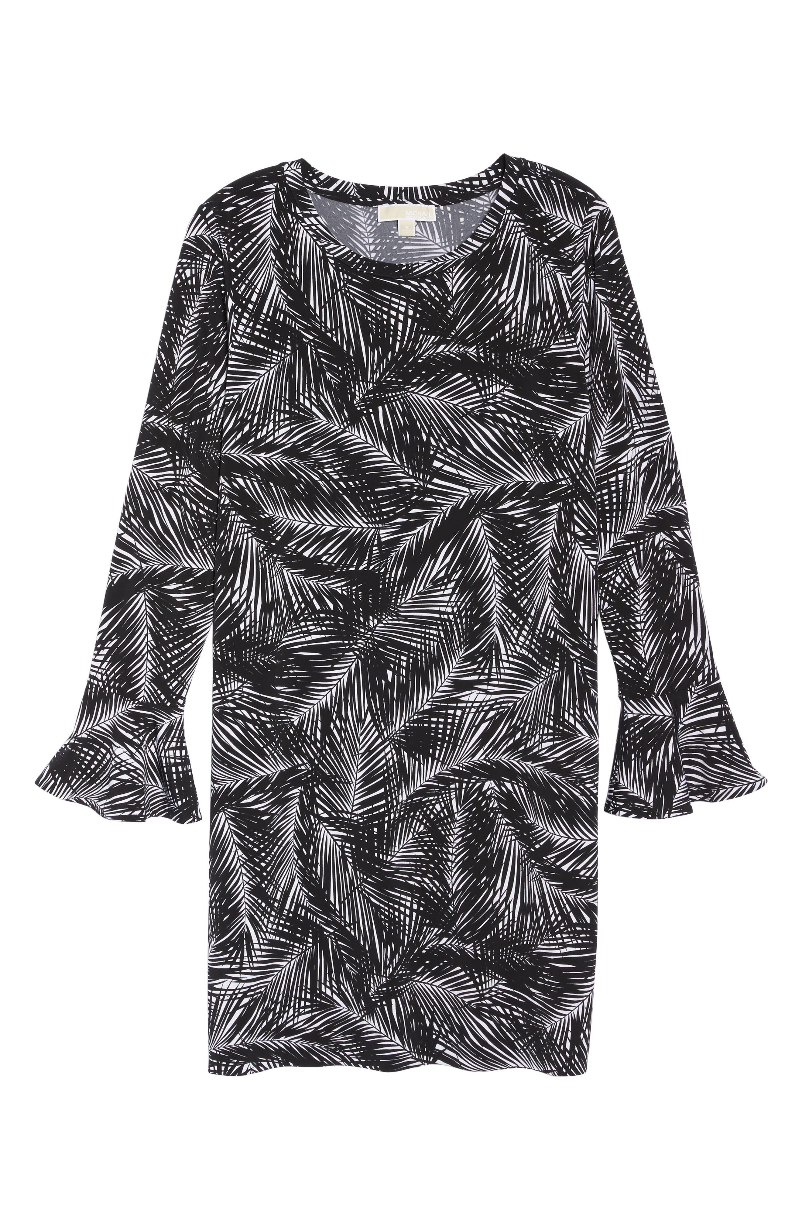 Alternate Image 6  - MICHAEL Michael Kors Abstract Palm Dress (Plus Size)