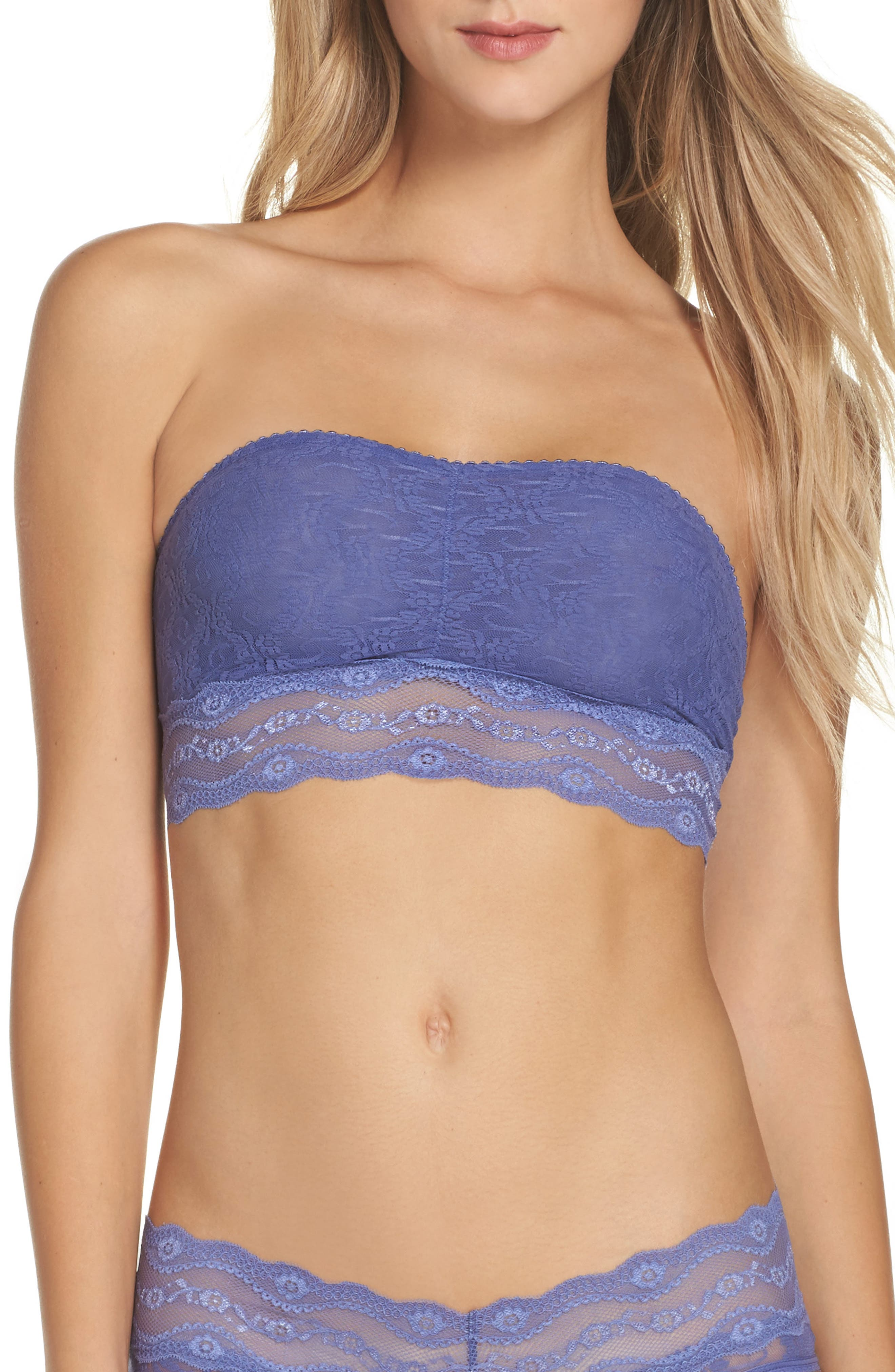 Alternate Image 1 Selected - b.tempt'd by Wacoal Lace Kiss Bandeau Bra