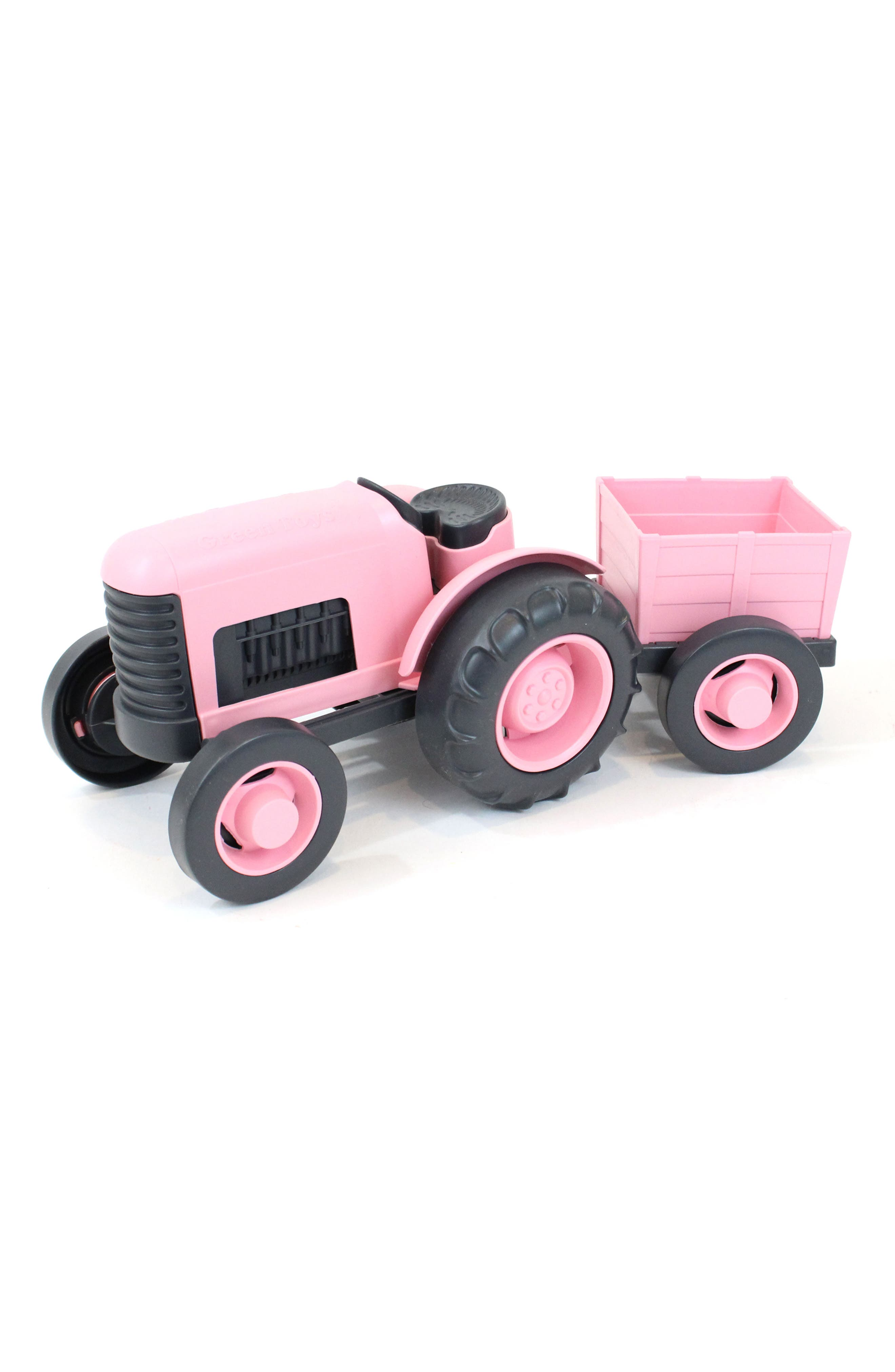 Green Toys Toy Tractor Set