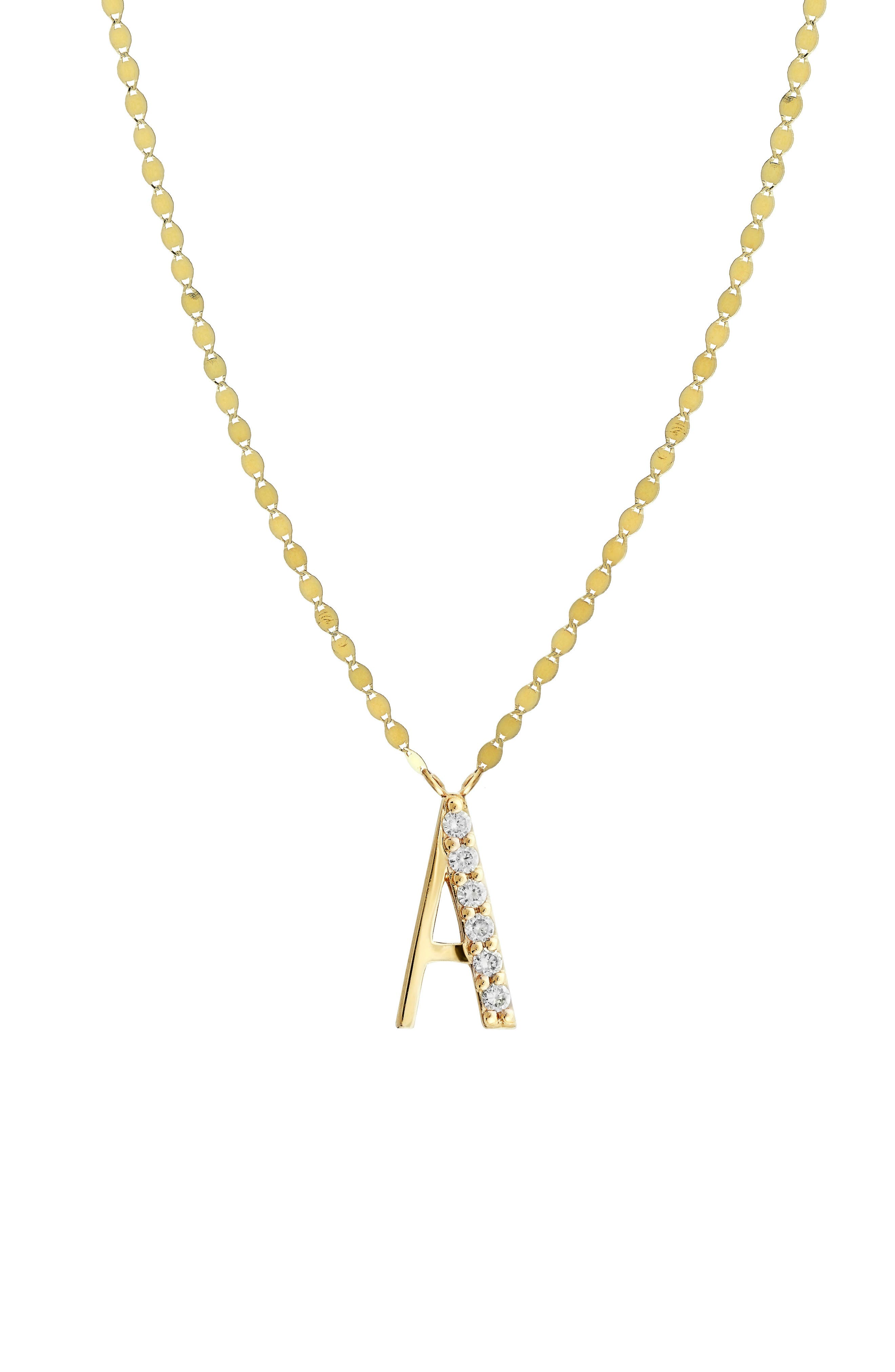 Lana Jewelry Initial Pendant Necklace
