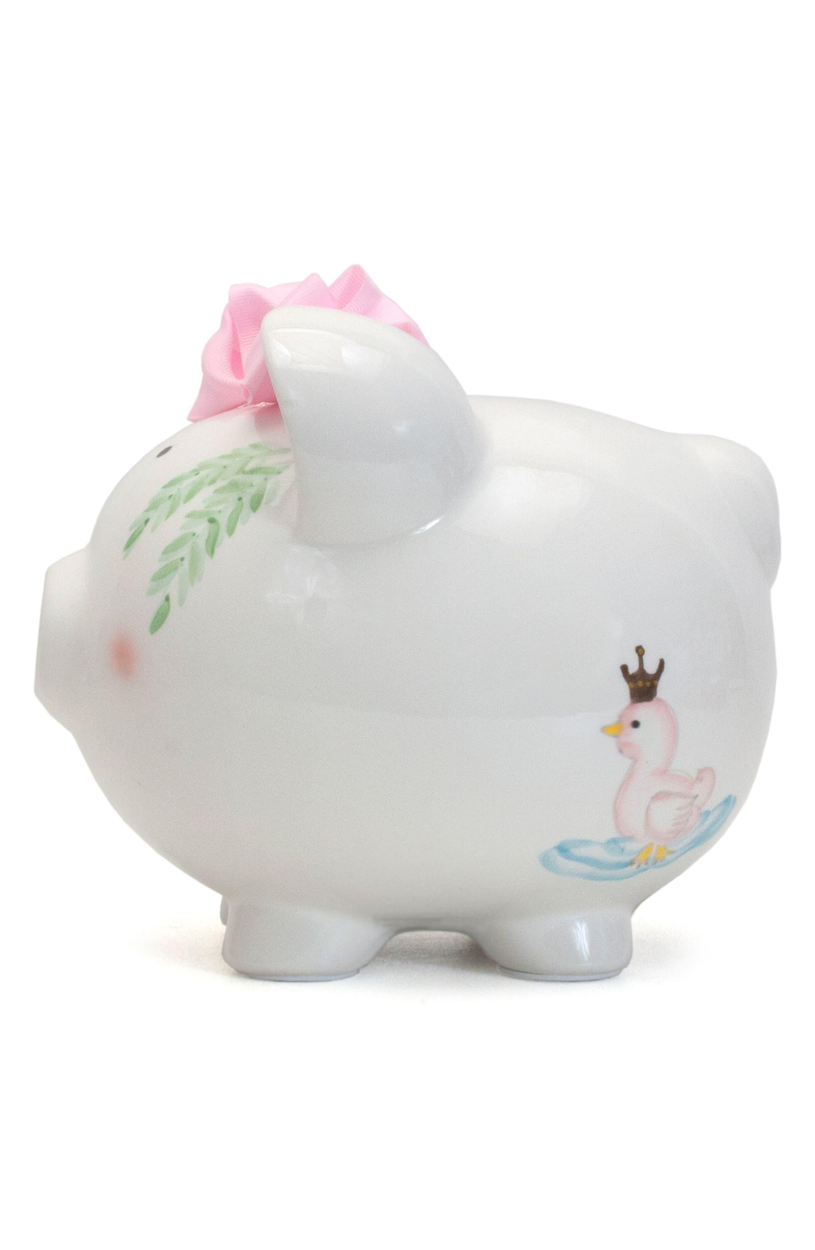 Serena the Swan Pig Bank,                             Alternate thumbnail 4, color,                             White