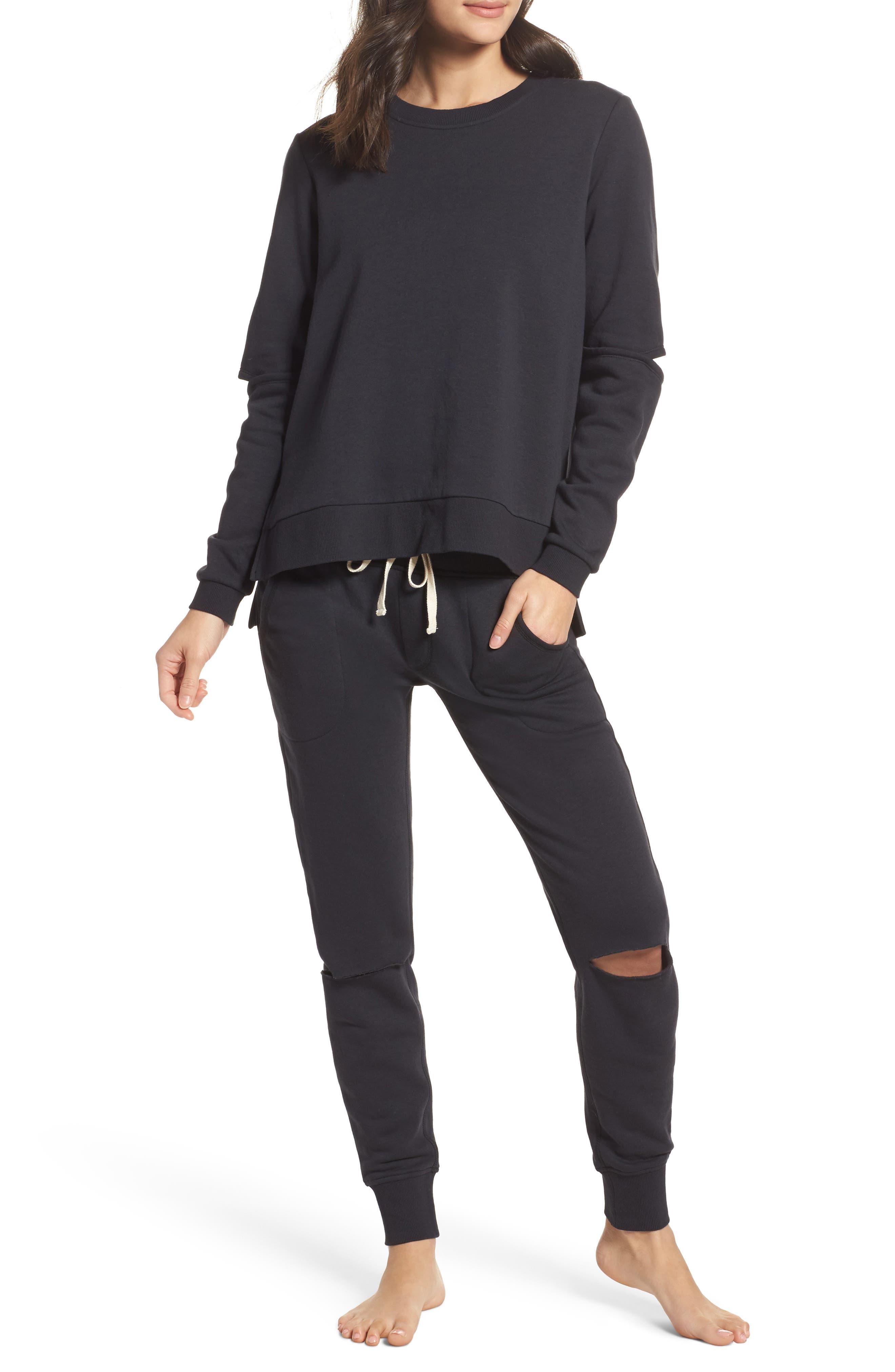 Alternate Image 6  - Alternative Cutout Sweatshirt