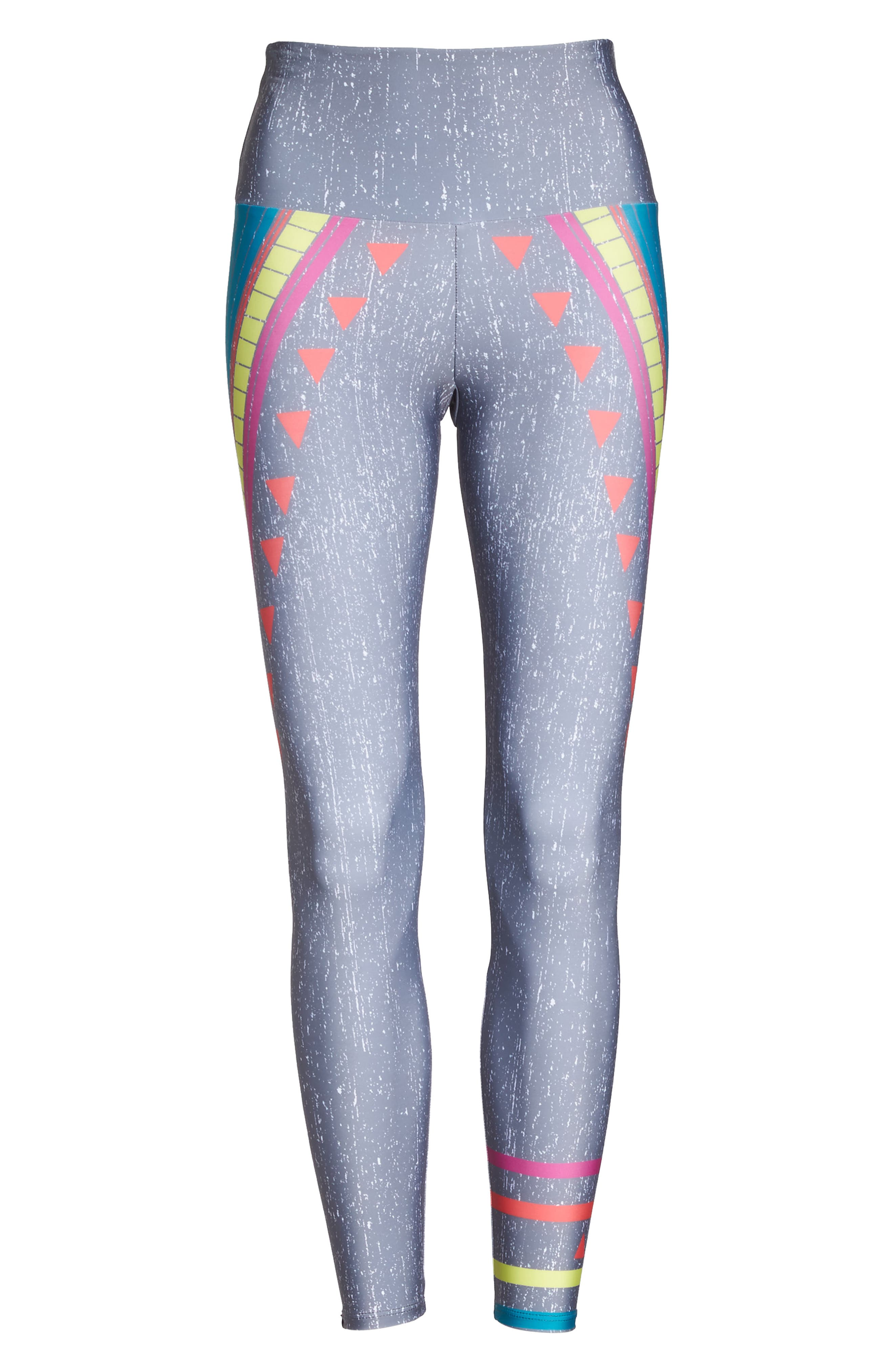 Alternate Image 6  - Onzie High Waist Graphic Leggings