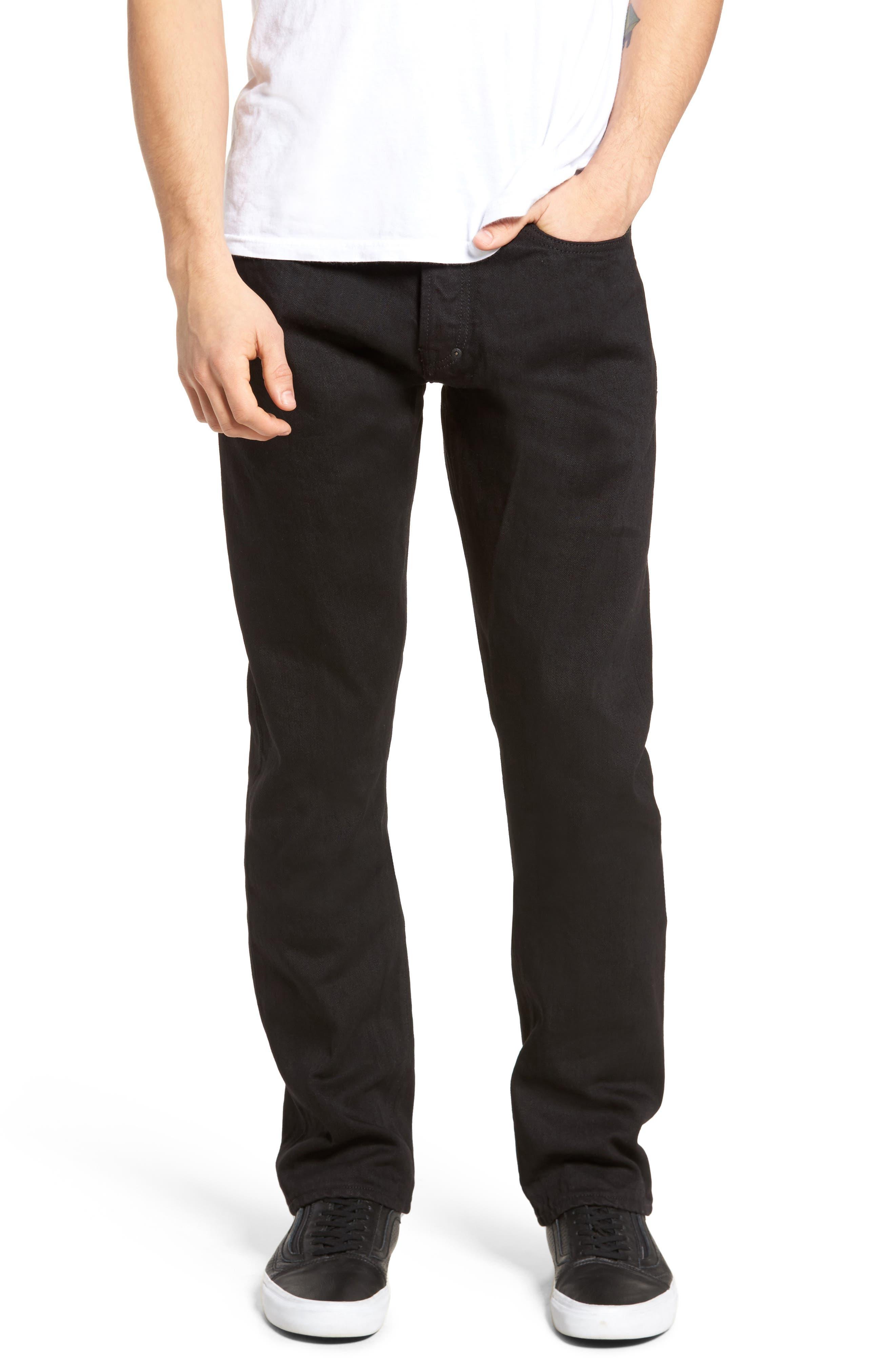 Alternate Image 1 Selected - PRPS Demon Slim Straight Leg Jeans (Zygomatic)