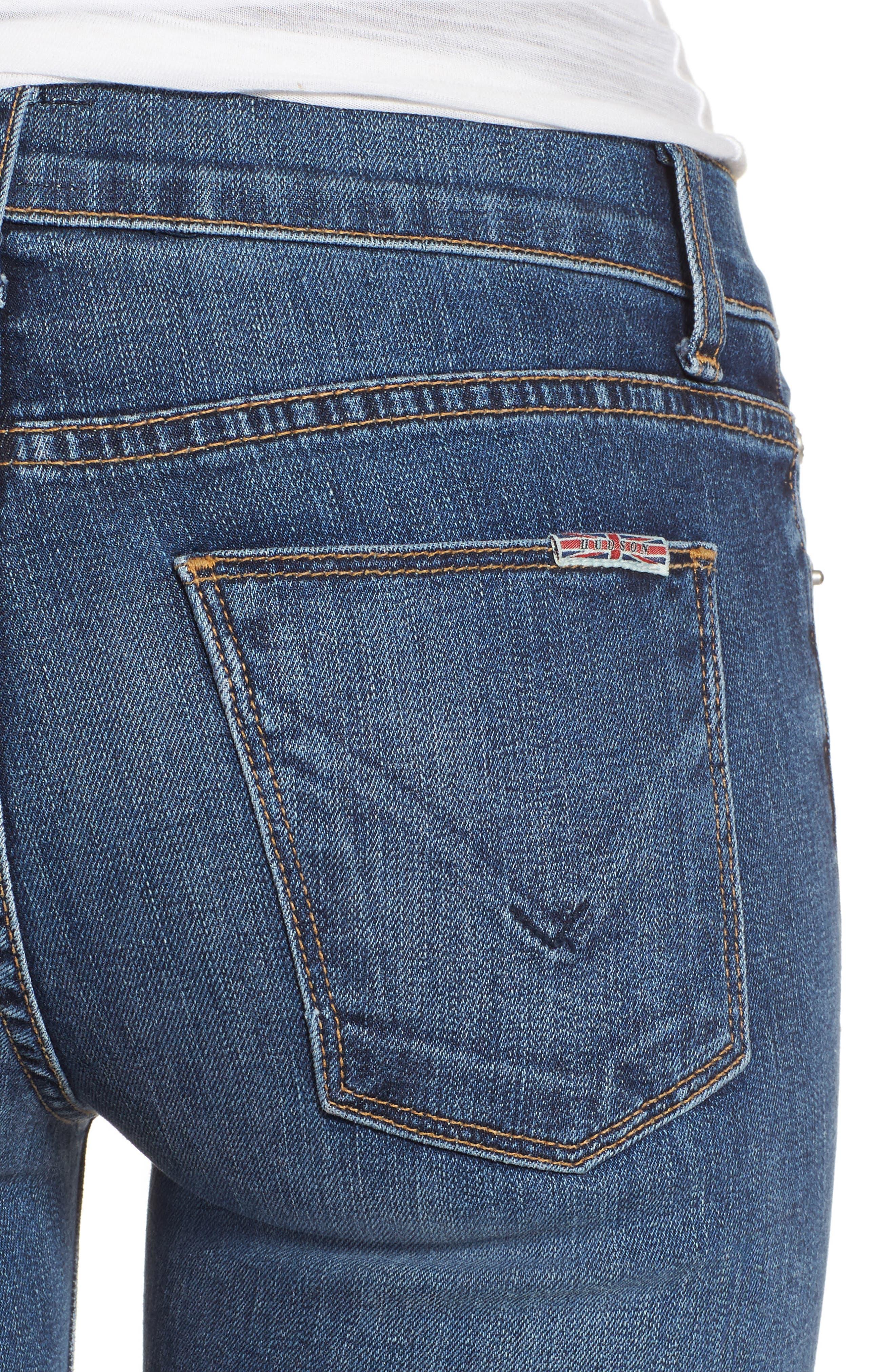 Alternate Image 4  - Hudson Jeans Drew Bootcut Jeans (Unfamed)