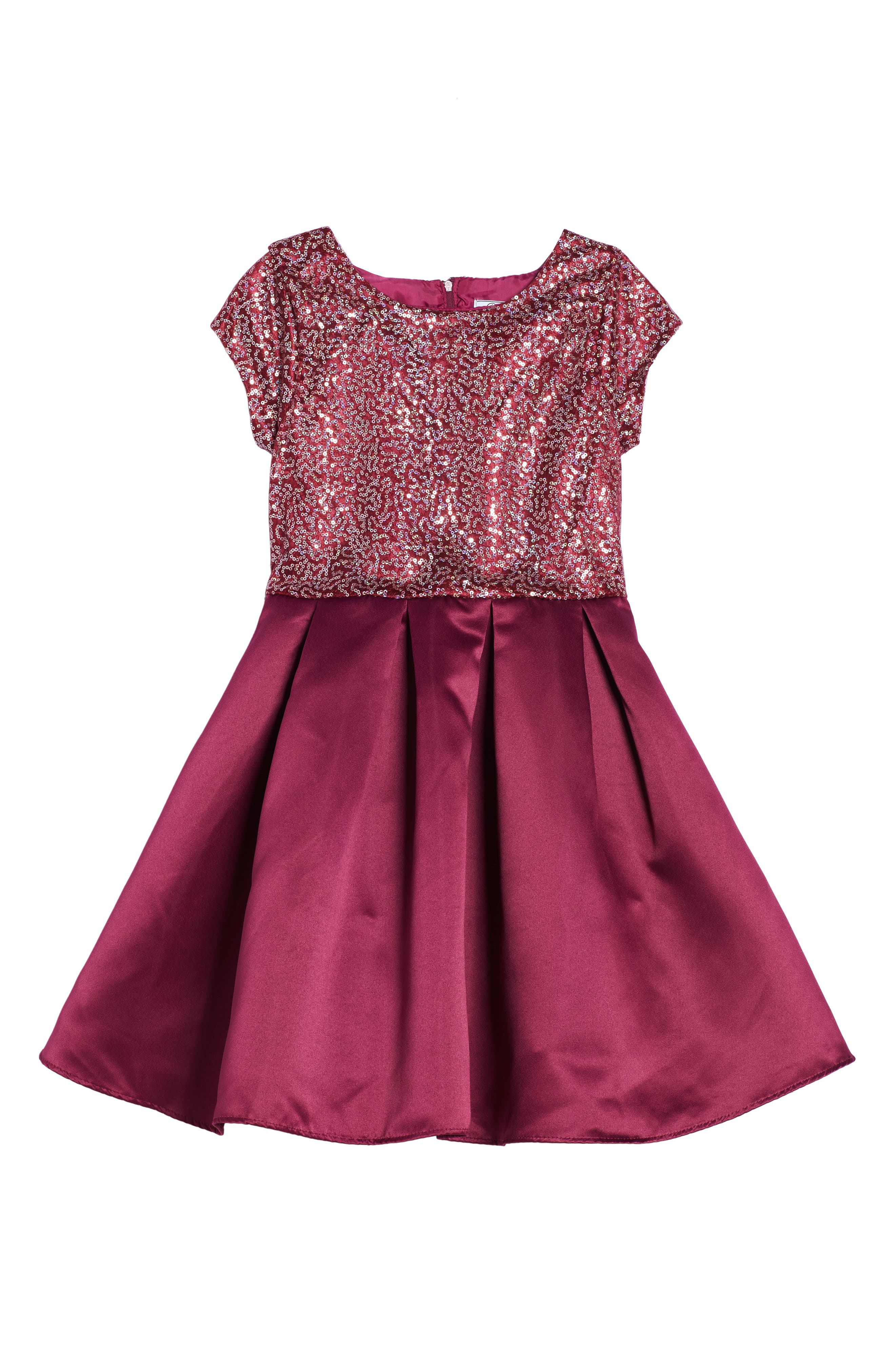 Dorissa Doris Sequin Embellished Dress (Big Girls)