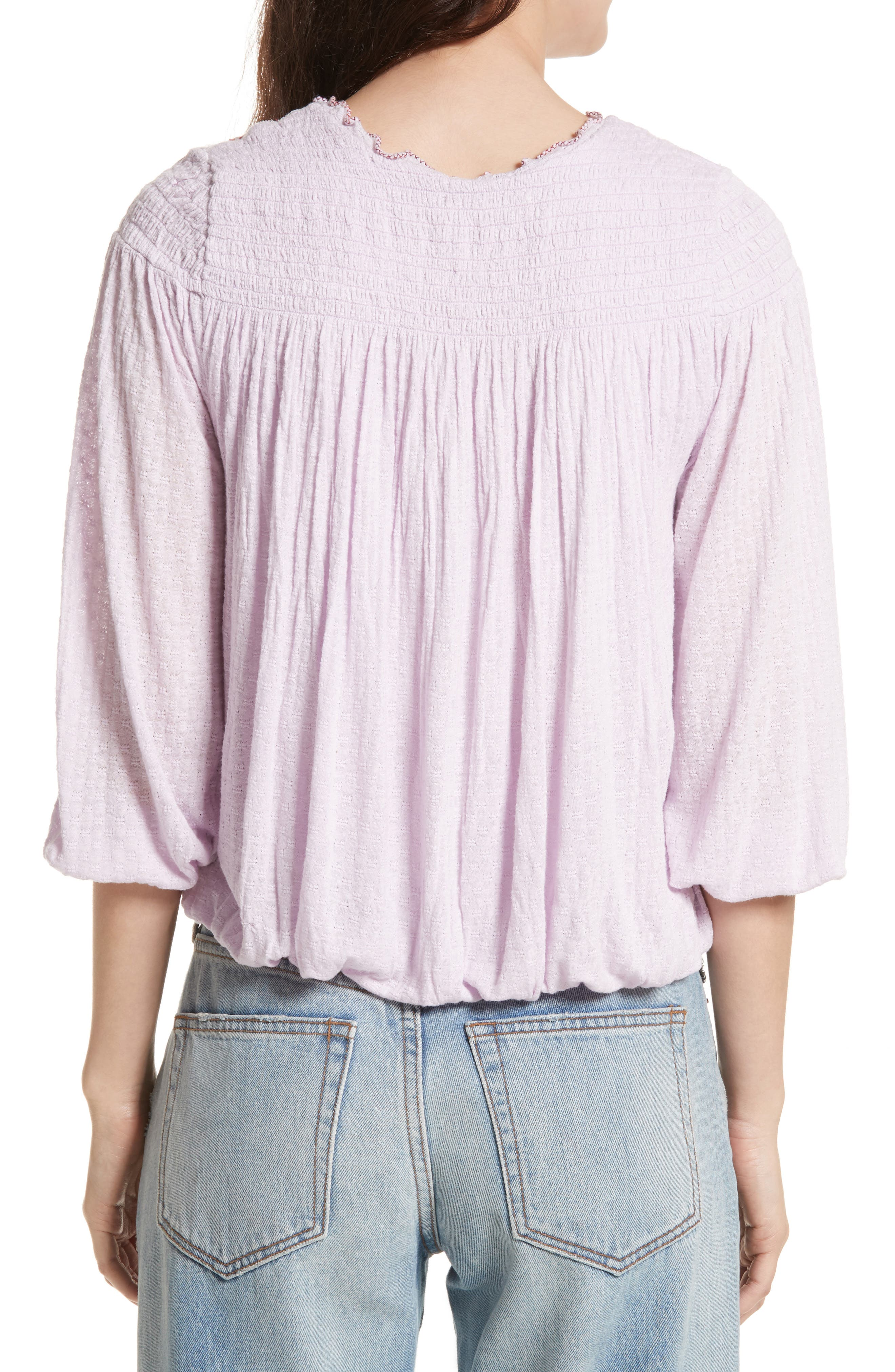 Alternate Image 2  - Free People Begonia Top