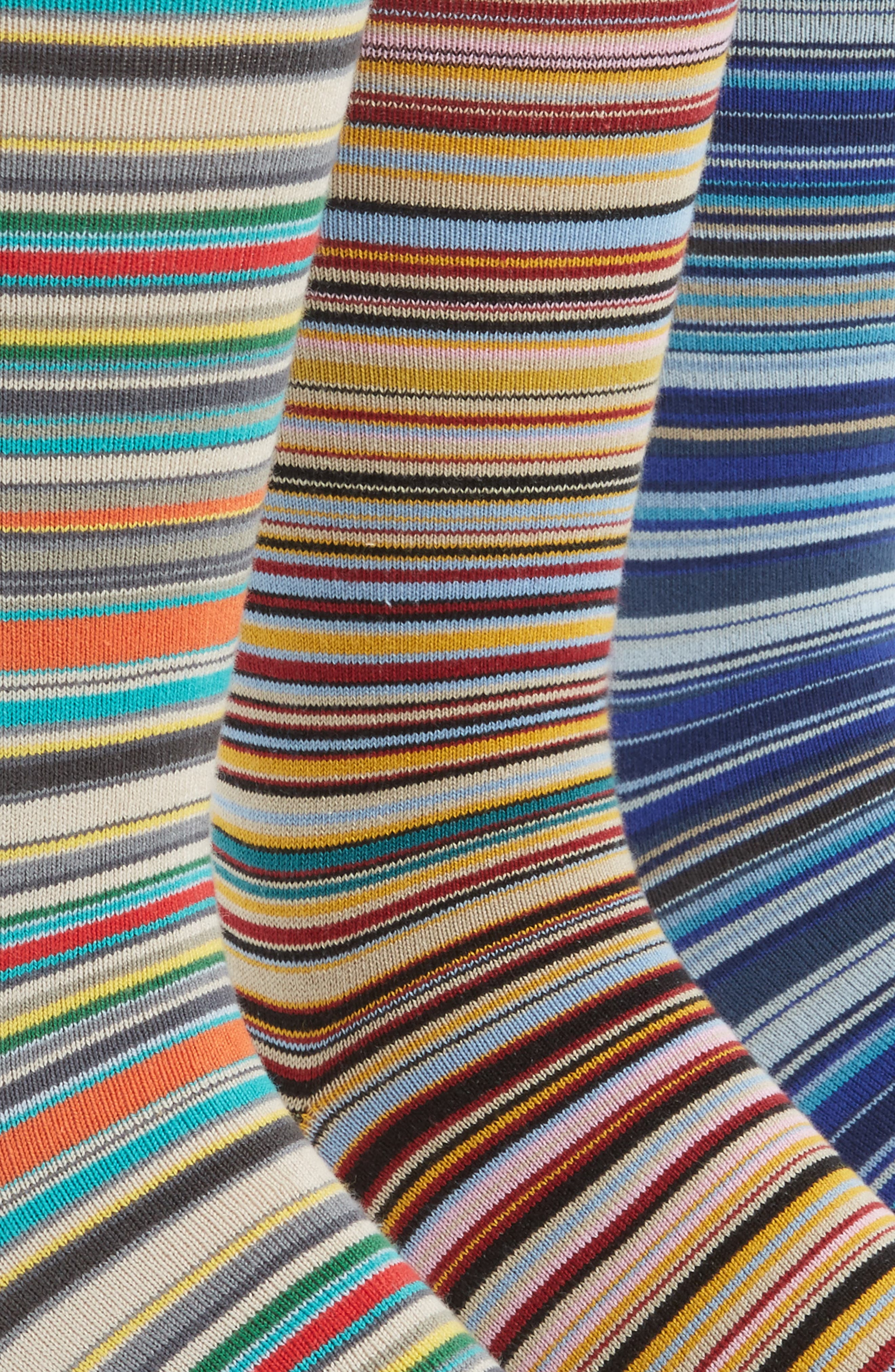 Alternate Image 3  - Paul Smith 3-Pack Mixed Pattern Socks ($90 Value)