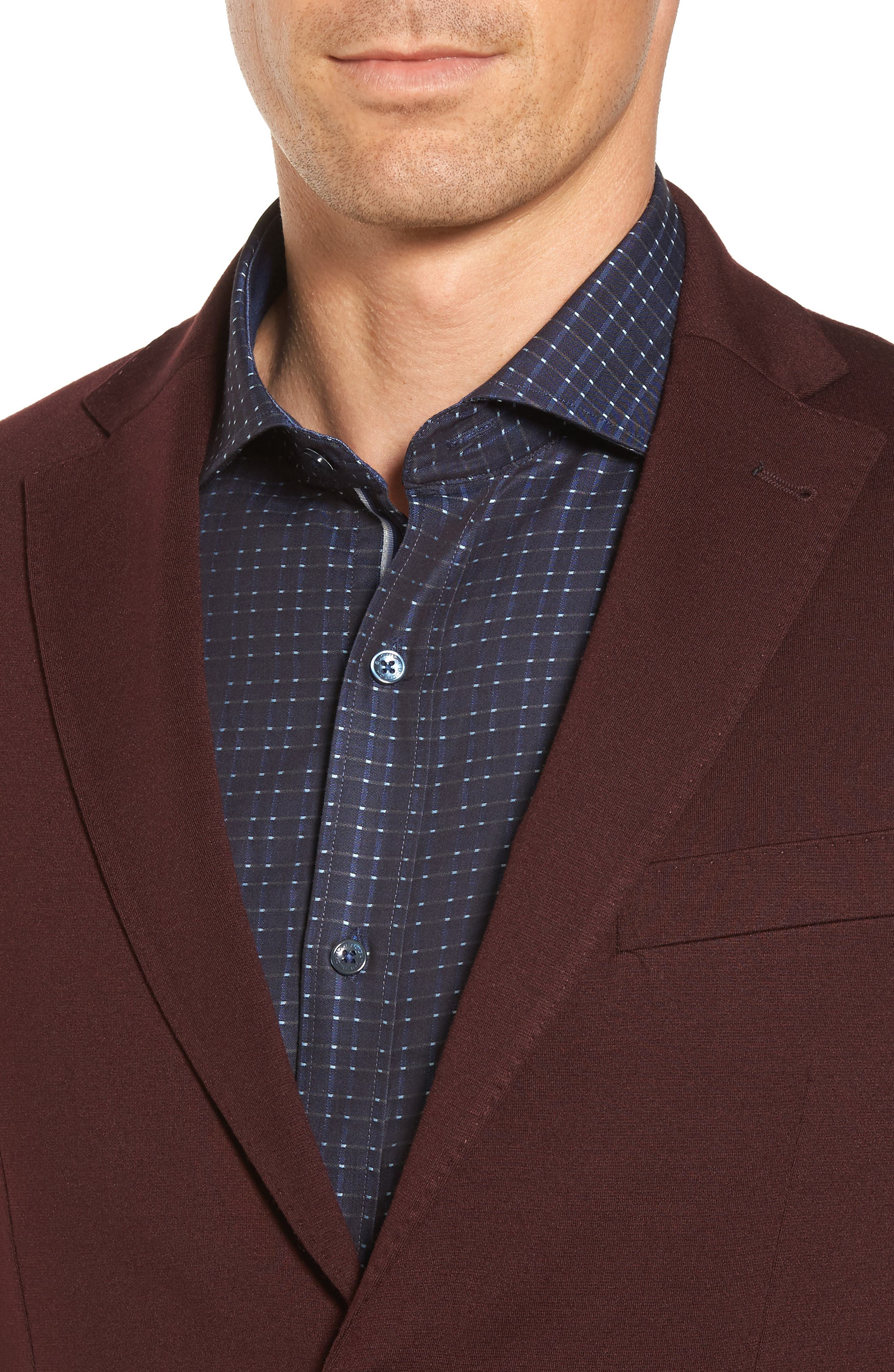 Alternate Image 4  - Bugatchi Regular Fit Blazer