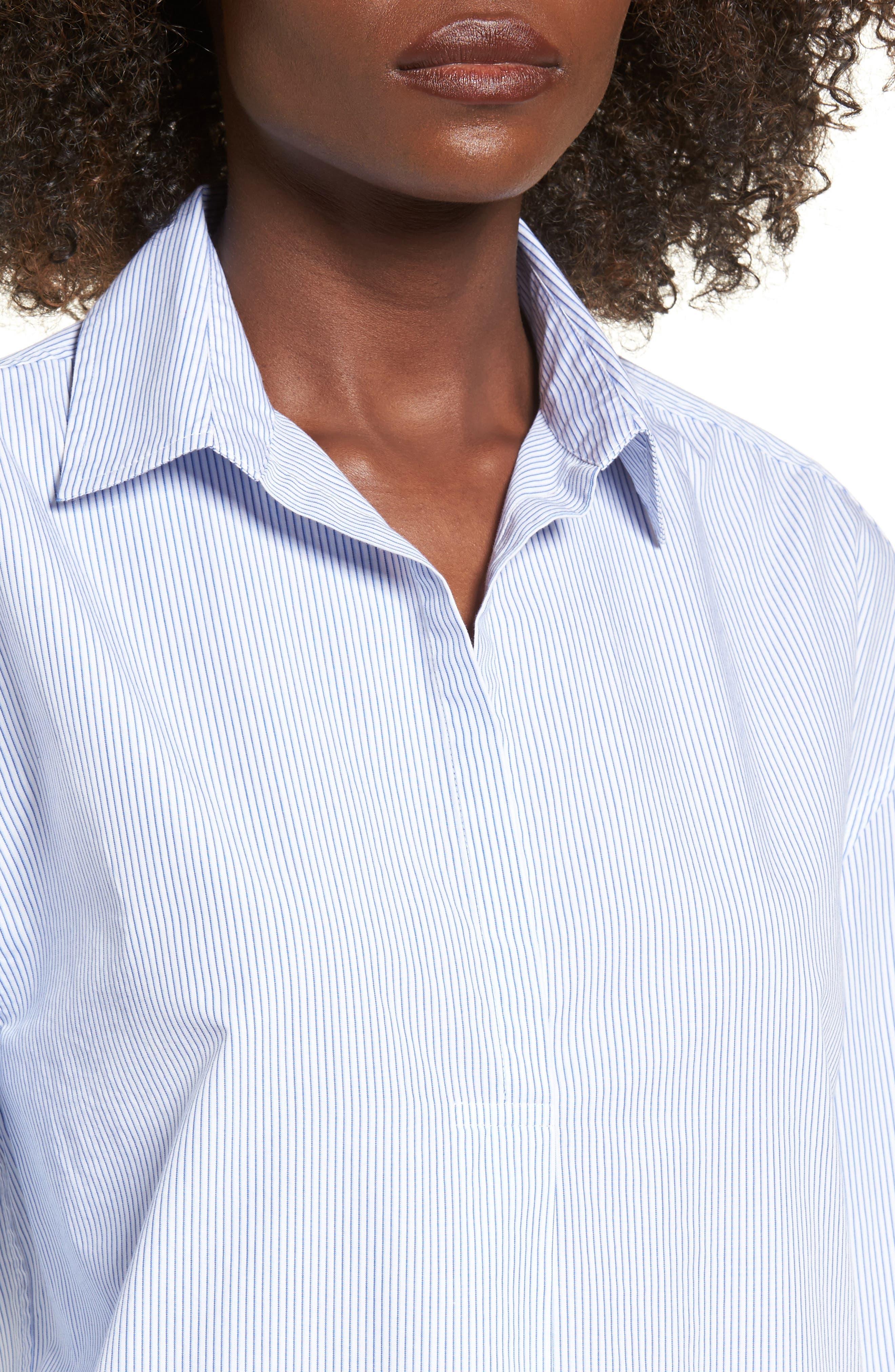 Alternate Image 4  - BP. Tie Sleeve Tunic Shirt