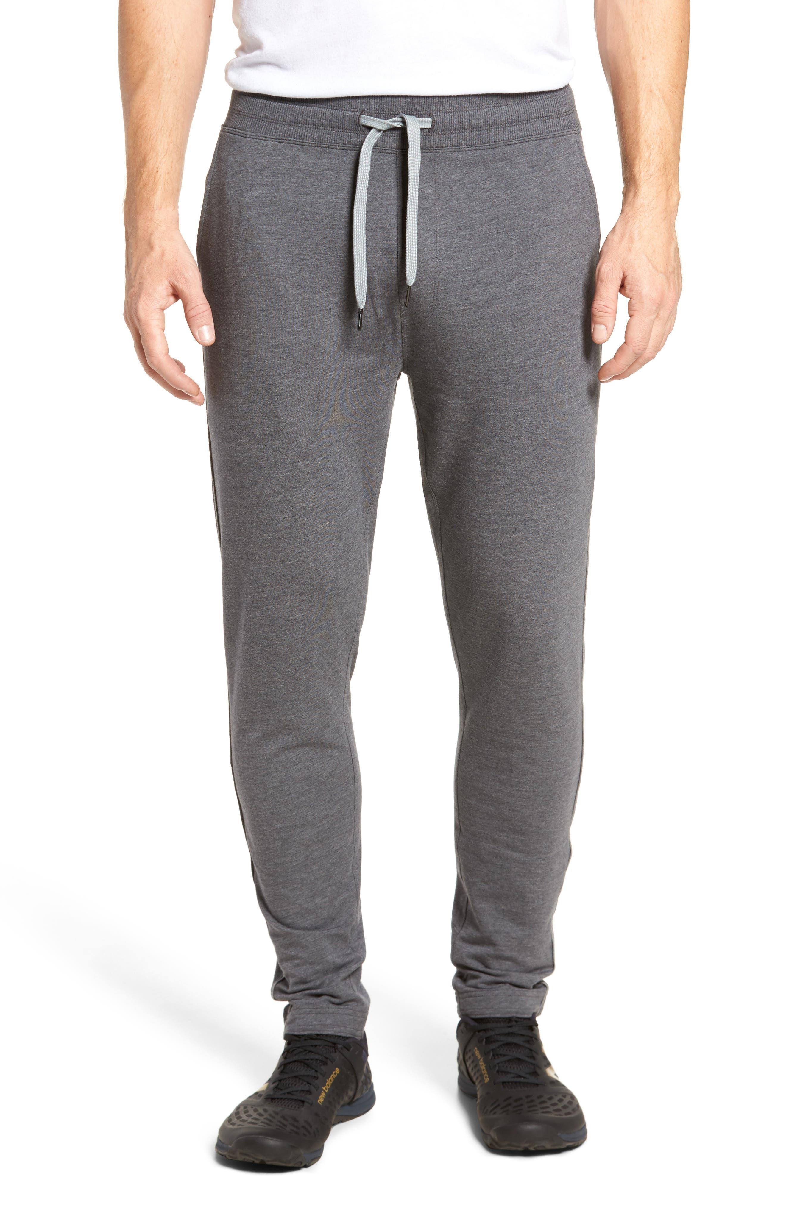Legacy Sweatpants,                         Main,                         color, Black Heather