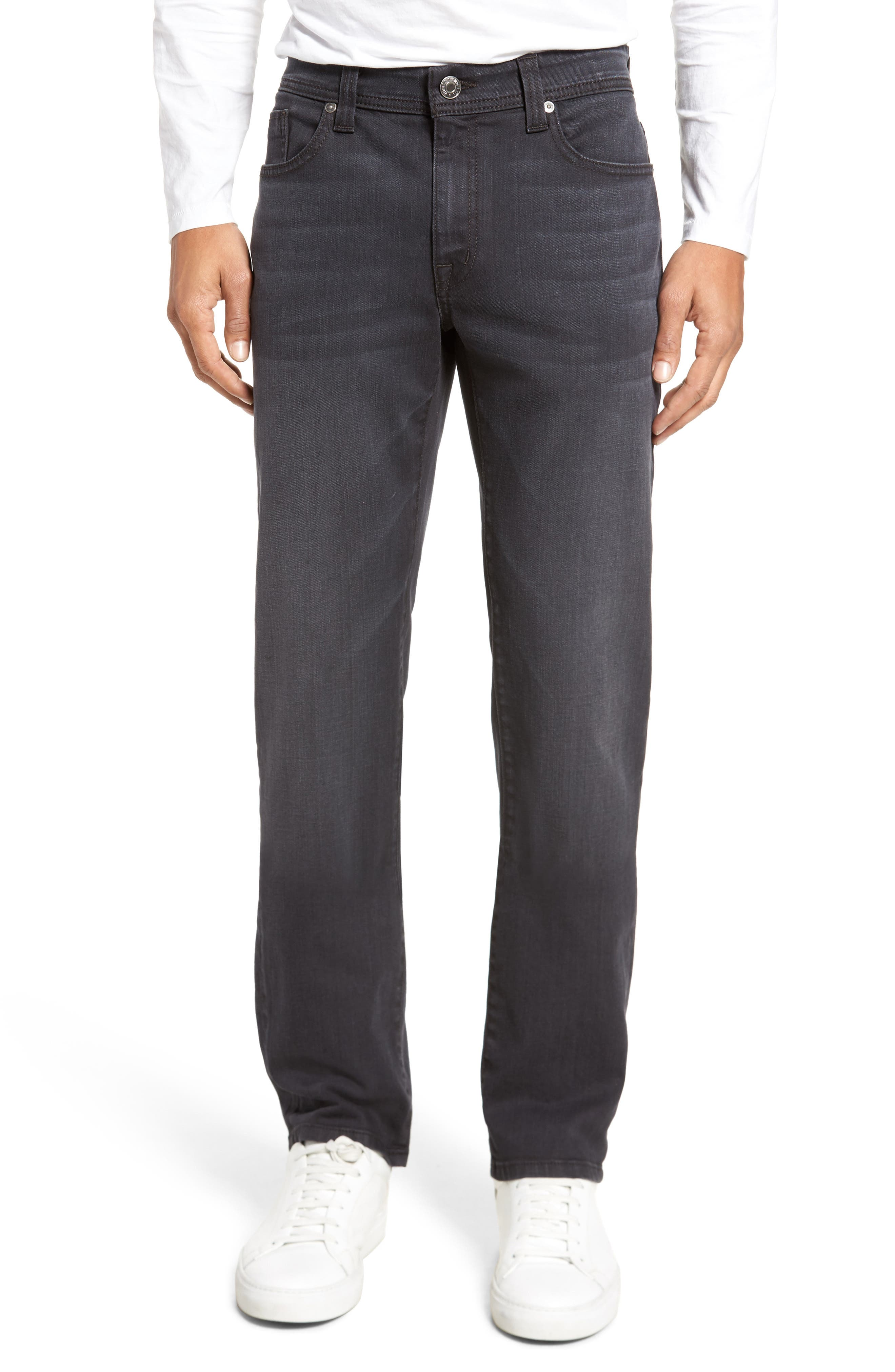 Jimmy Slim Straight Fit Jeans,                         Main,                         color, Banshee