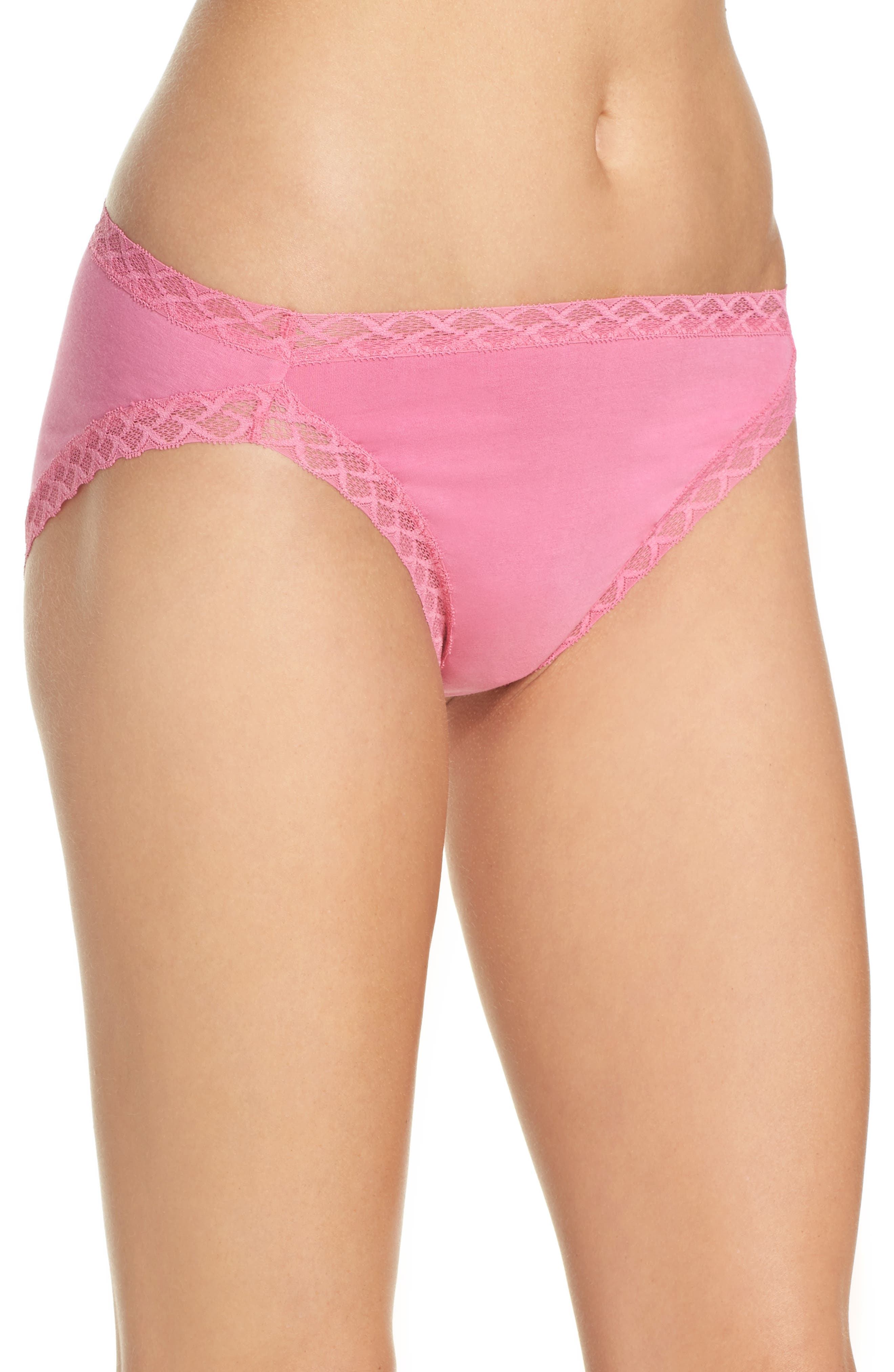 Alternate Image 3  - Natori Bliss Cotton Girl Briefs (3 for $45)