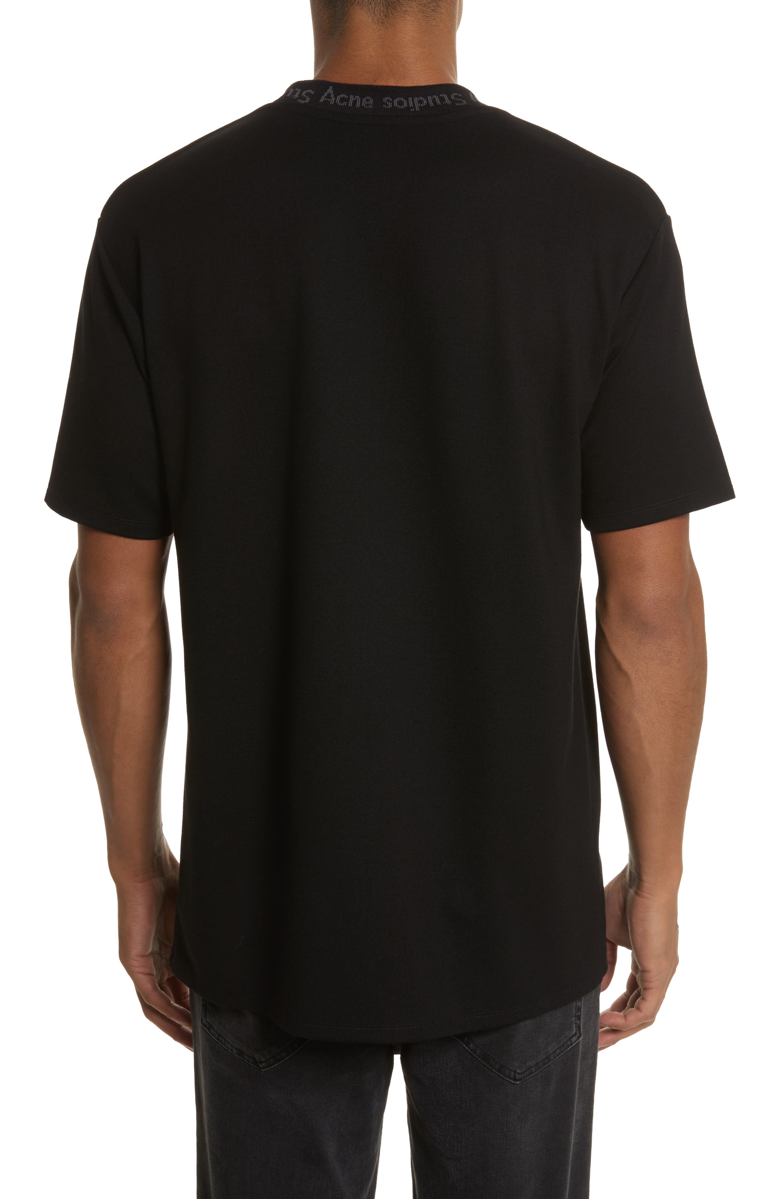 Alternate Image 2  - Acne Studios Navid Logo Collar T-Shirt
