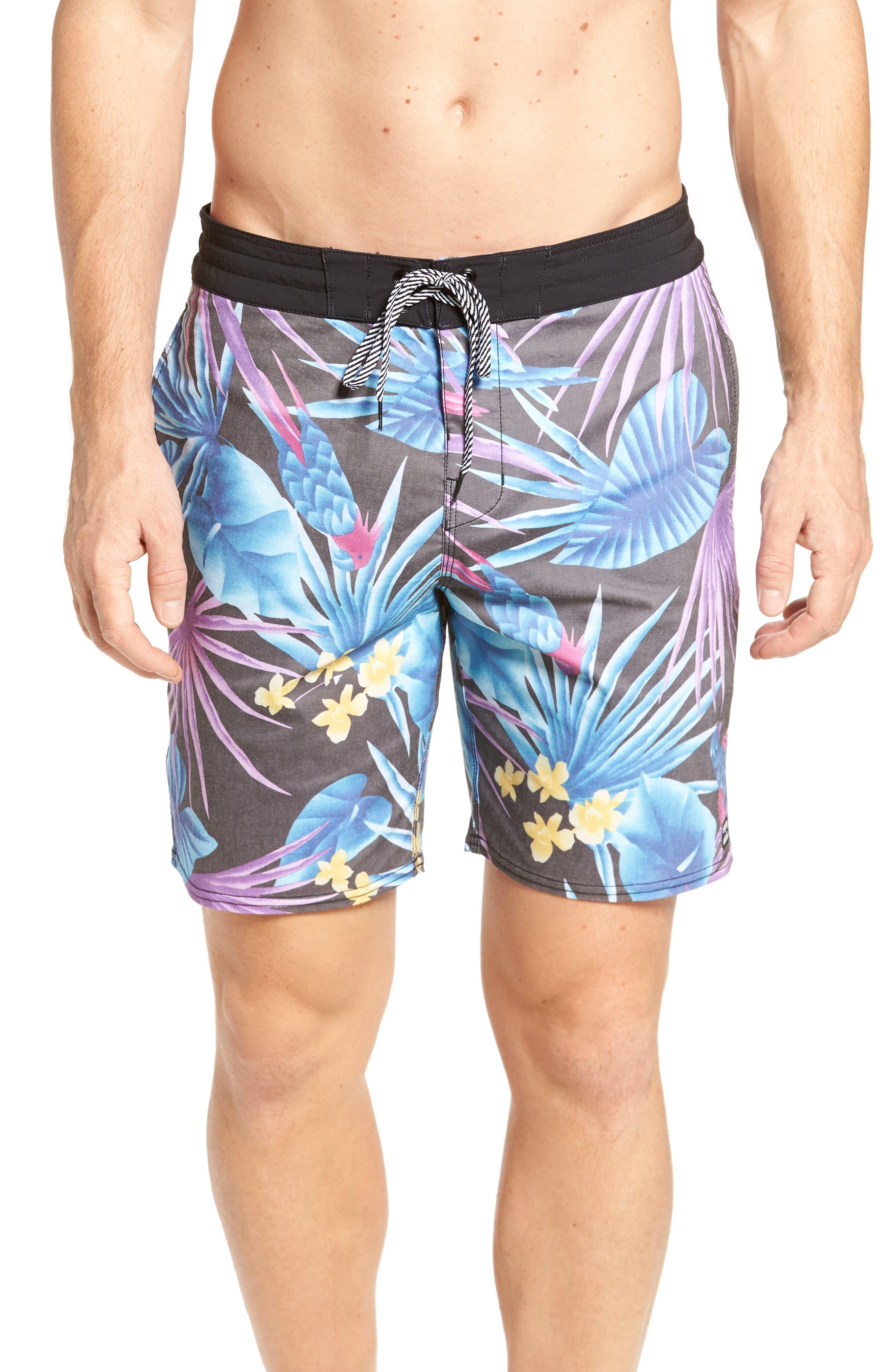 Sundays Board Shorts,                         Main,                         color, Aqua
