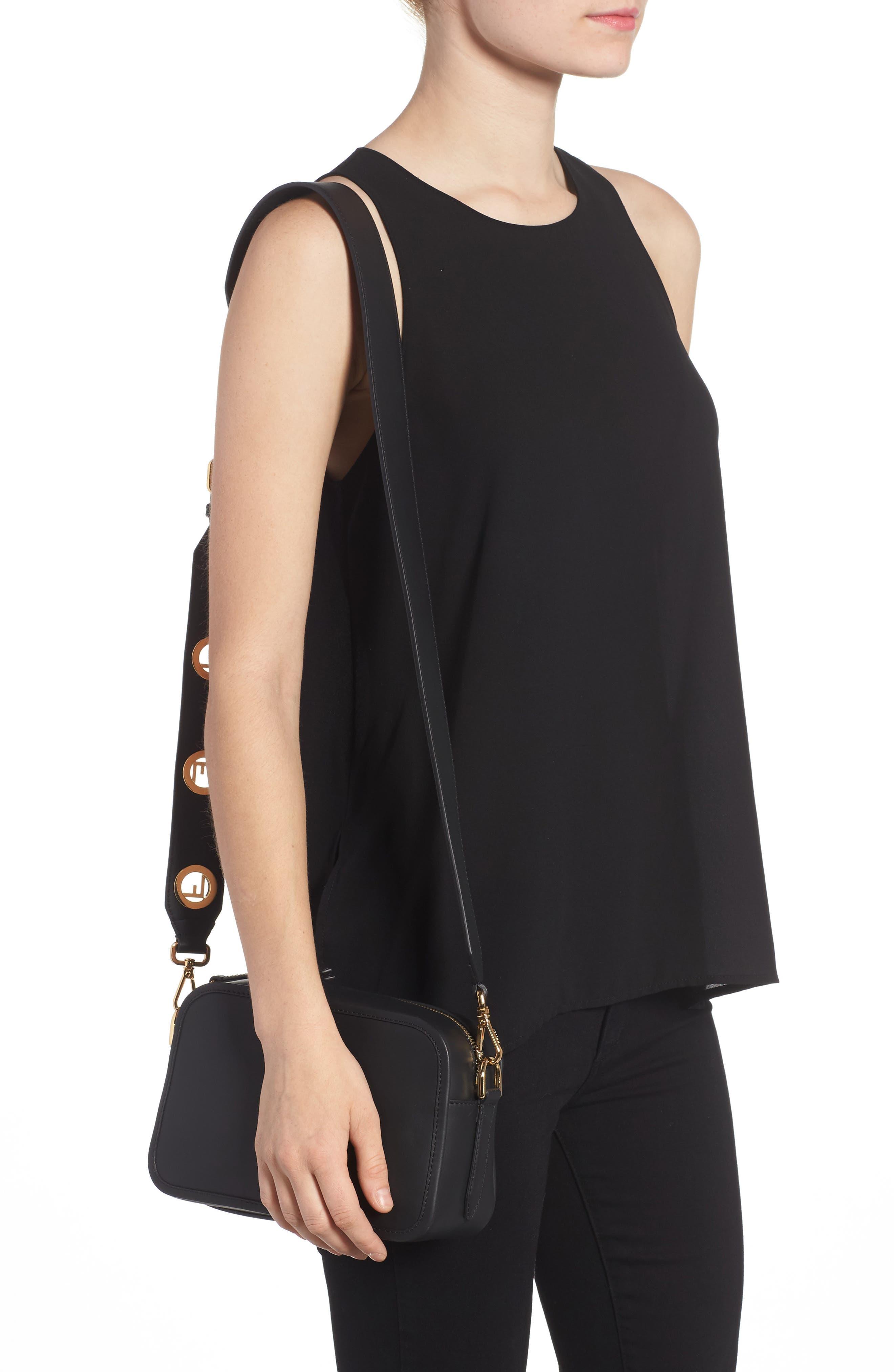 Alternate Image 2  - Fendi Logo Leather Camera Bag