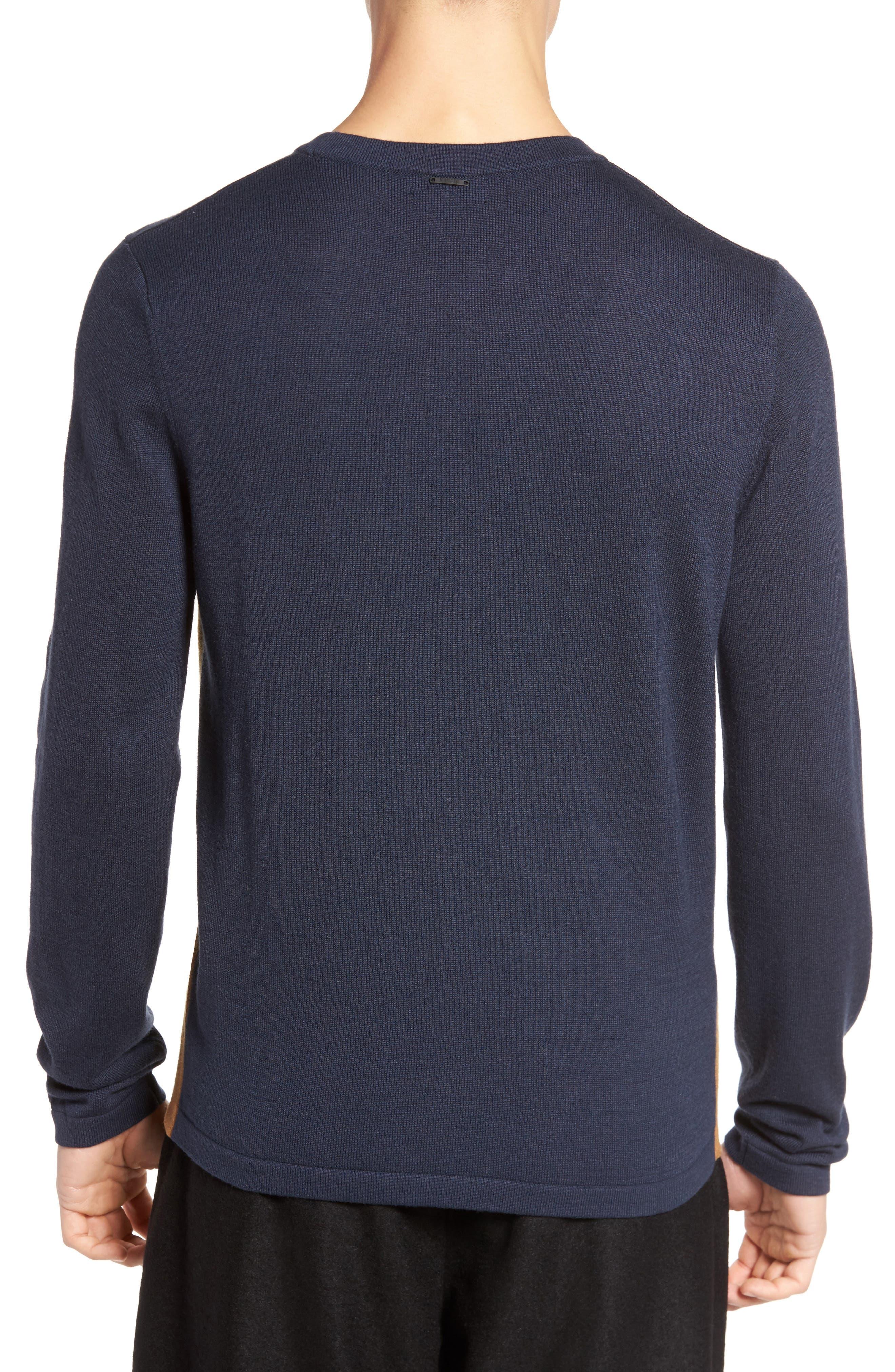 Anotny Morato Pattern Sweater,                             Alternate thumbnail 2, color,                             Soft Blue