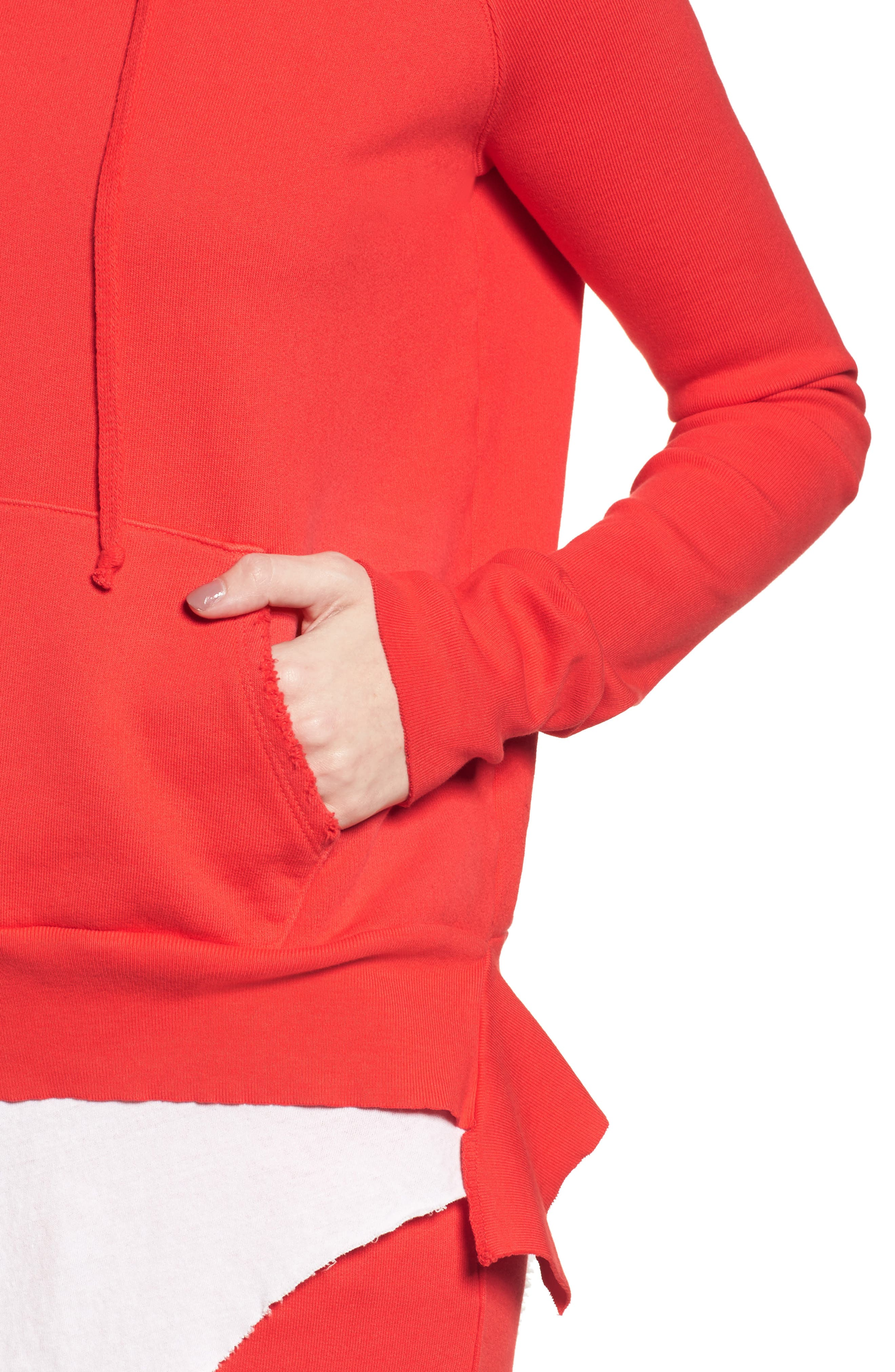 Pullover Hoodie,                             Alternate thumbnail 5, color,                             Flash