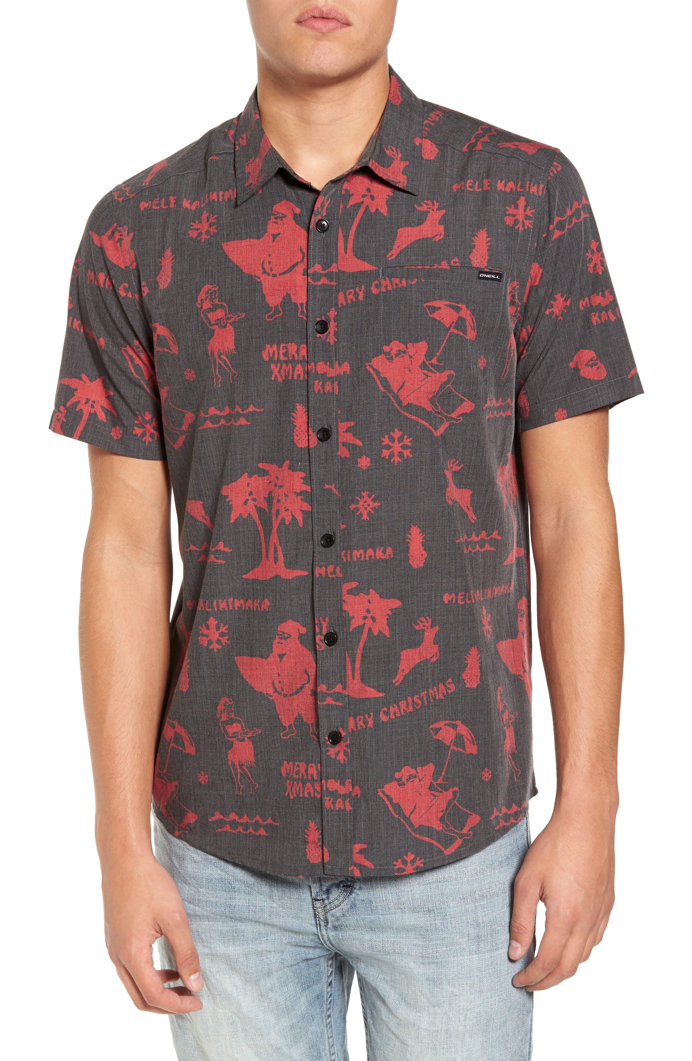 Main Image - O'Neill Frost Woven Sport Shirt