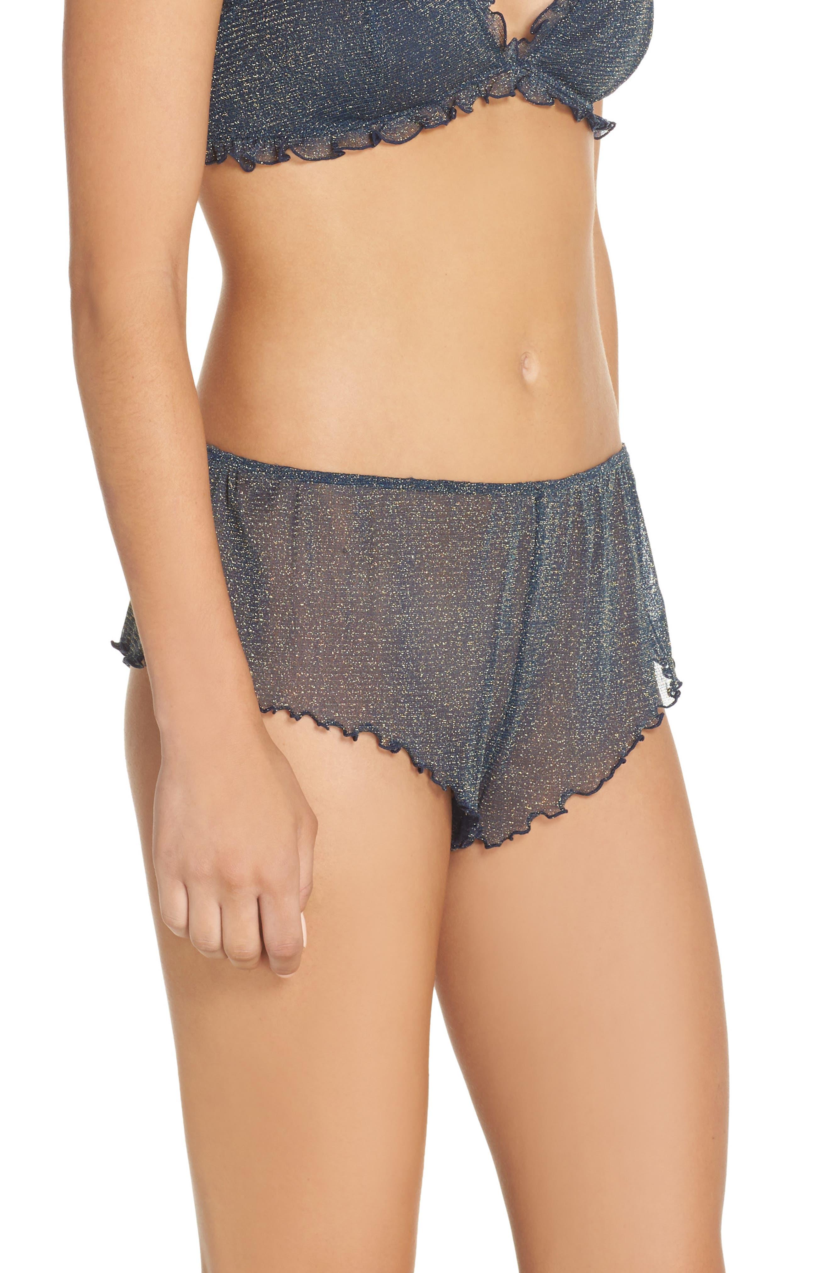 Alternate Image 3  - Chelsea28 Shimmer Nights Knicker Shorts