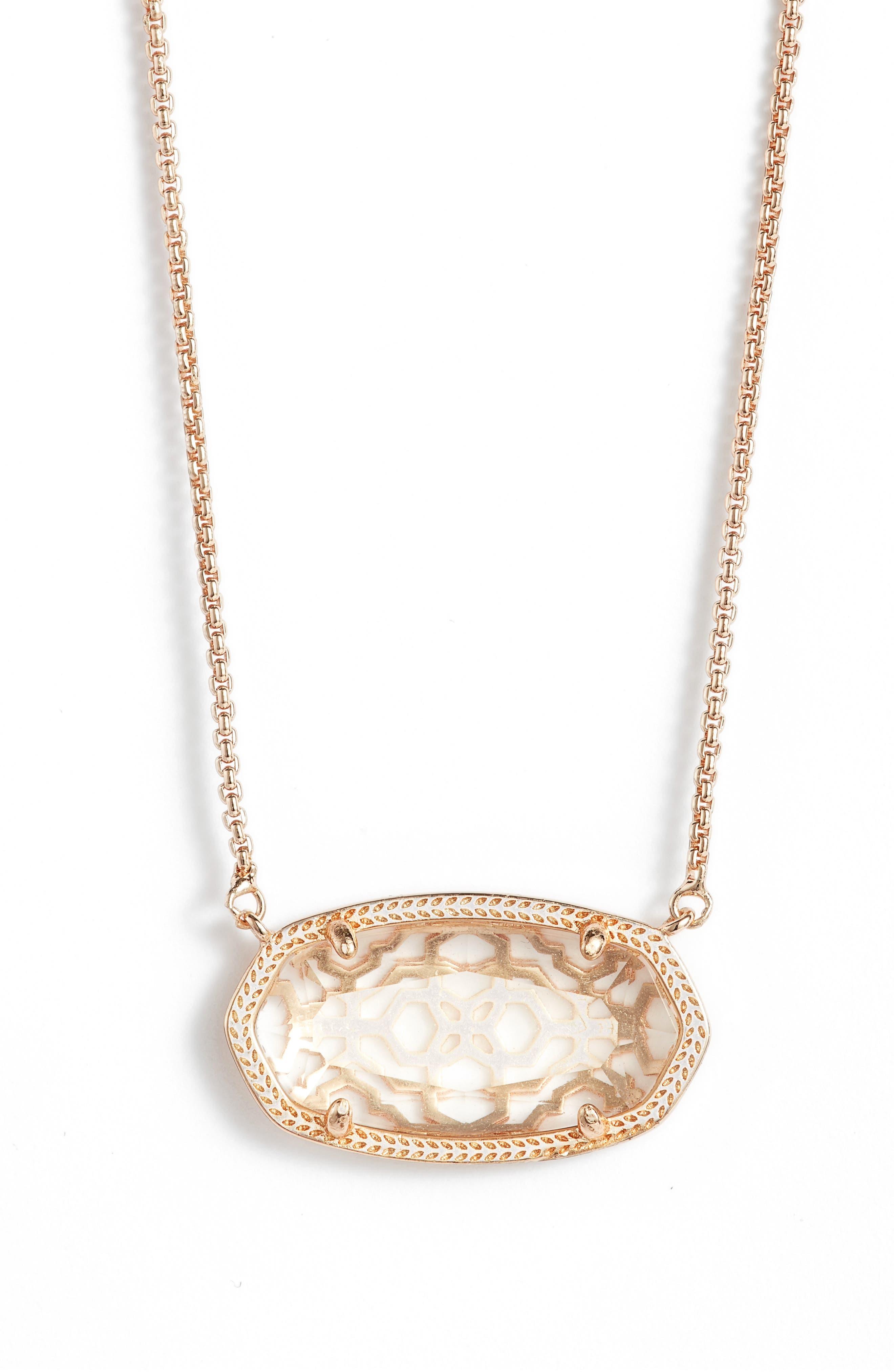 Kendra Scott Delaney Pendant Necklace