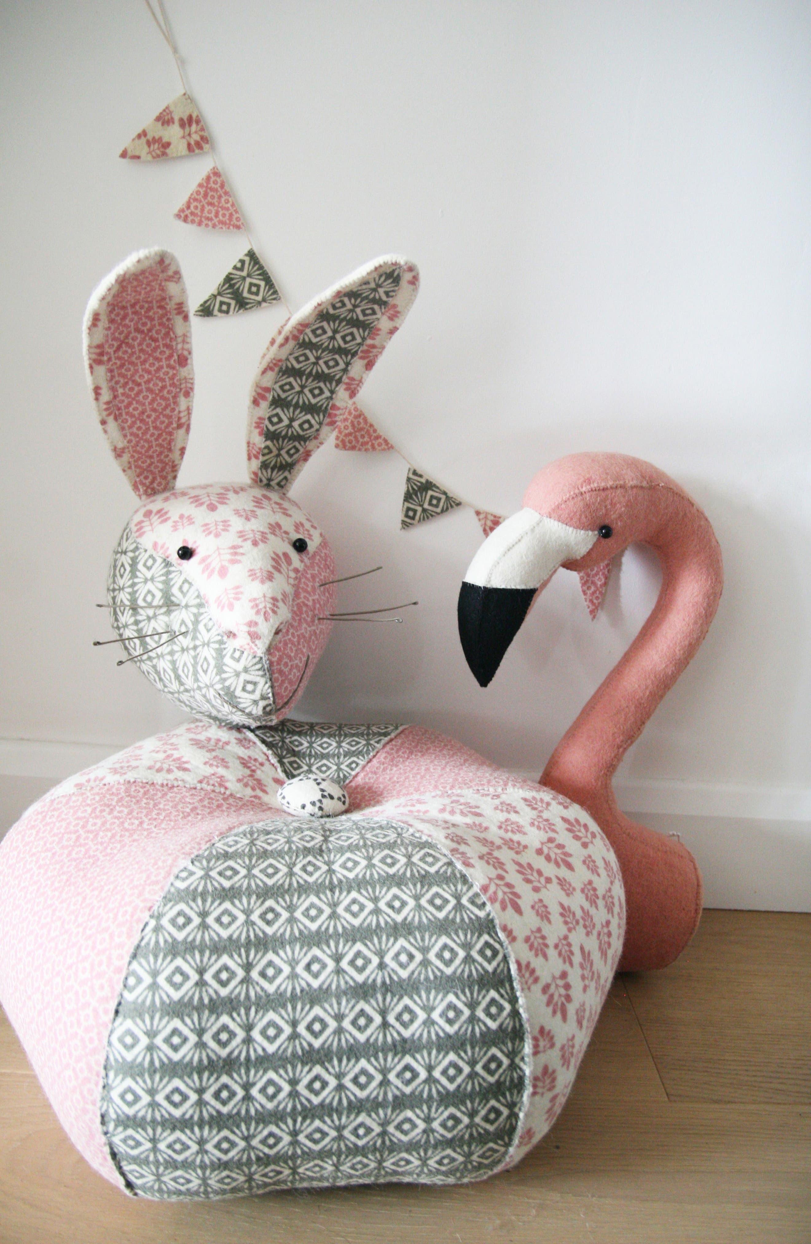 Alternate Image 5  - Fiona Walker Flamingo Head Wall Art