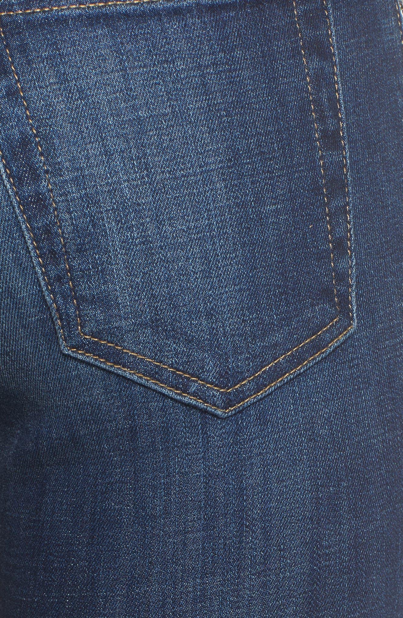 Alternate Image 5  - Joe's Flawless - Icon Skinny Ankle Jeans (Fernanda)