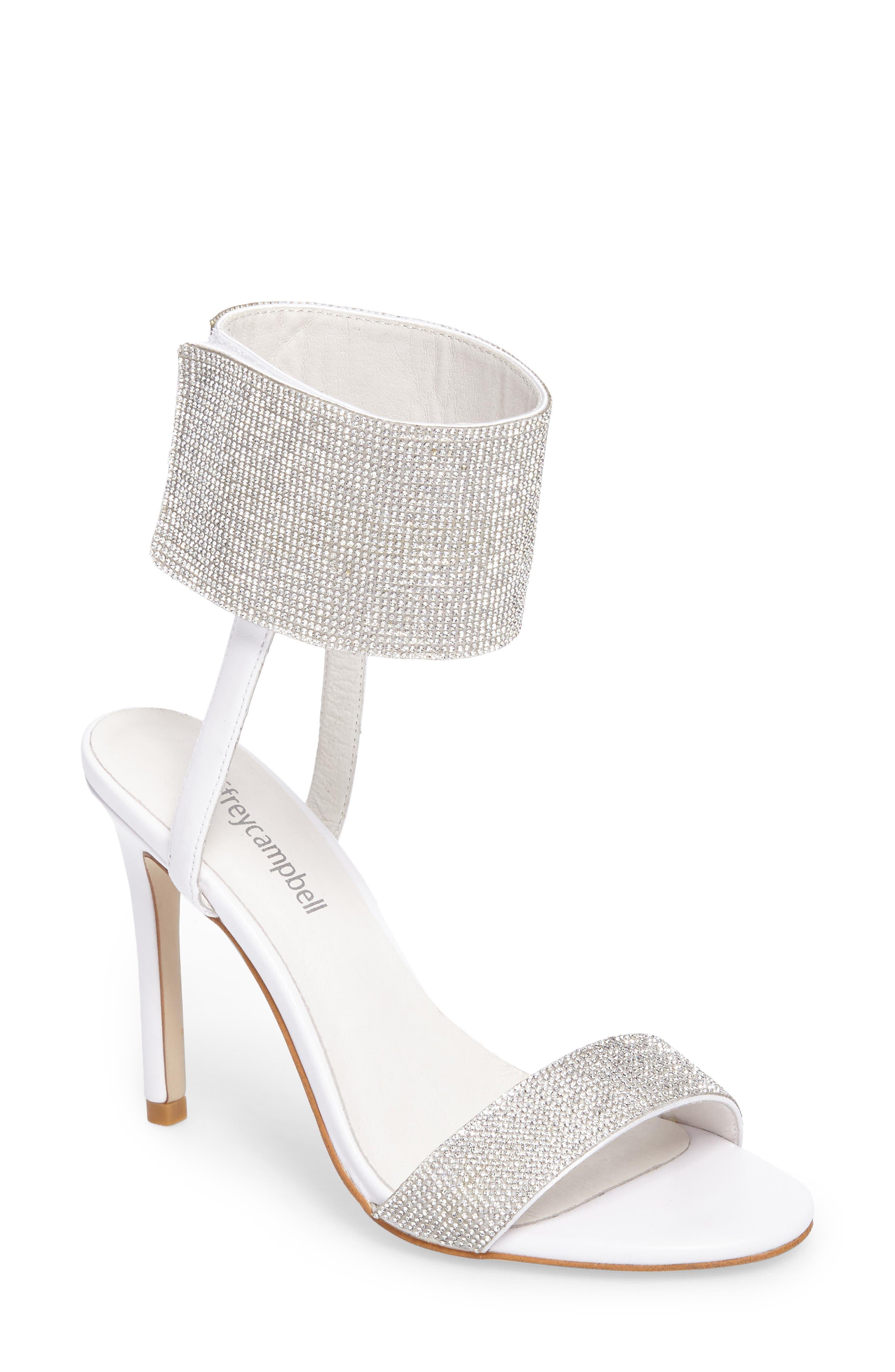 Jeffrey Campbell Frost Ankle Cuff Sandal (Women)