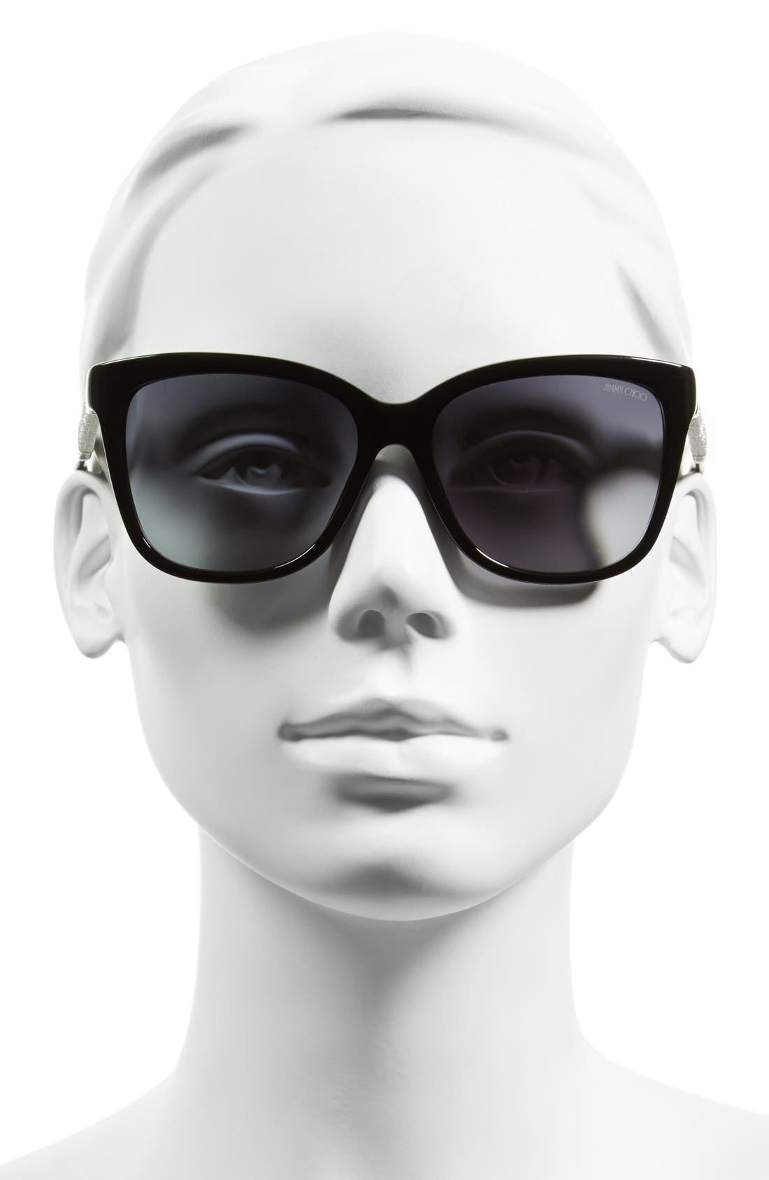Alternate Image 2  - Jimmy Choo 'Coras' 56mm Retro Sunglasses