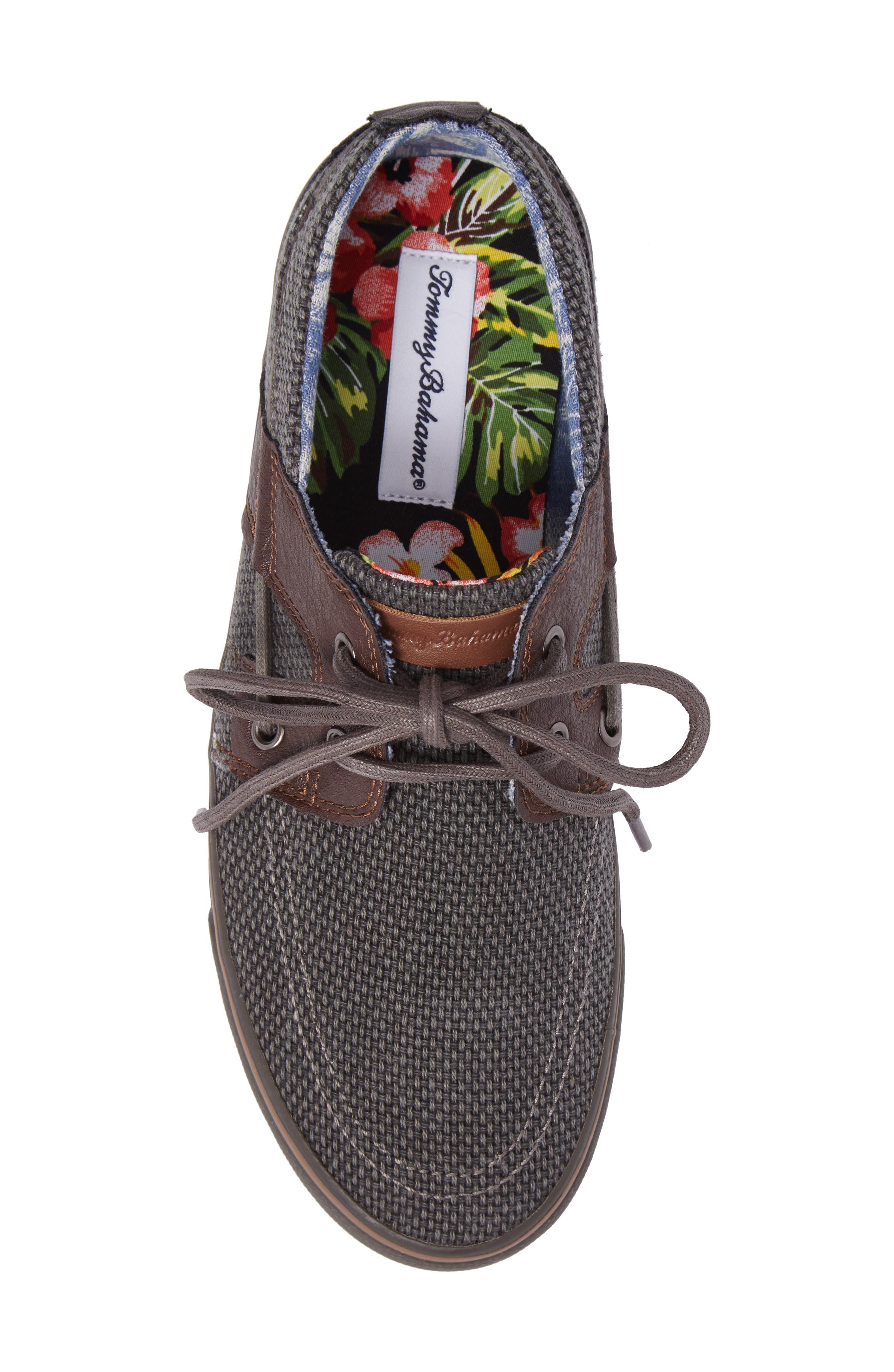 Stripe Breaker Sneaker,                             Alternate thumbnail 5, color,                             Dark Grey/ Dark Brown