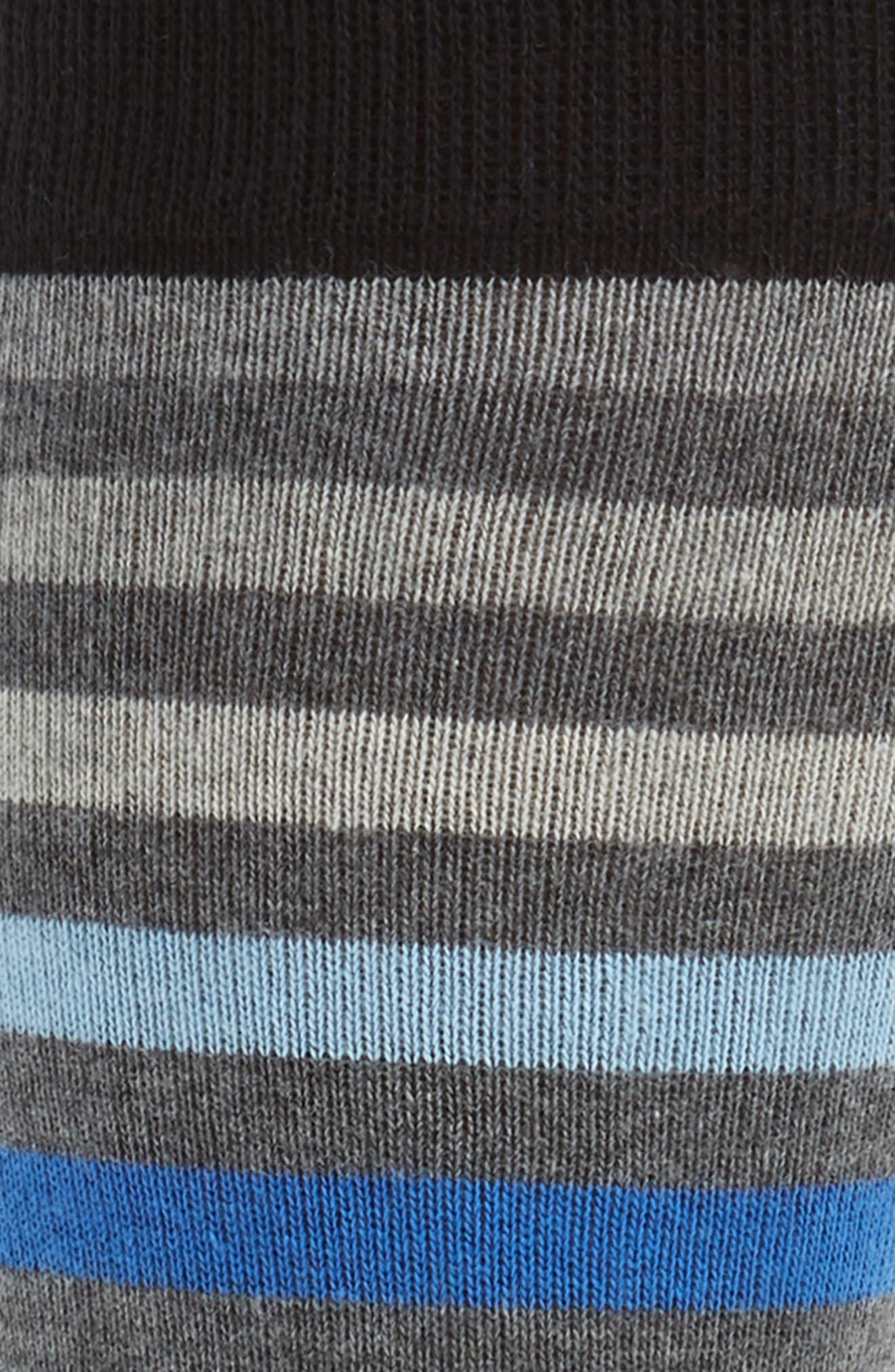 Alternate Image 2  - Calibrate Heather Stripe Socks (3 for $30)