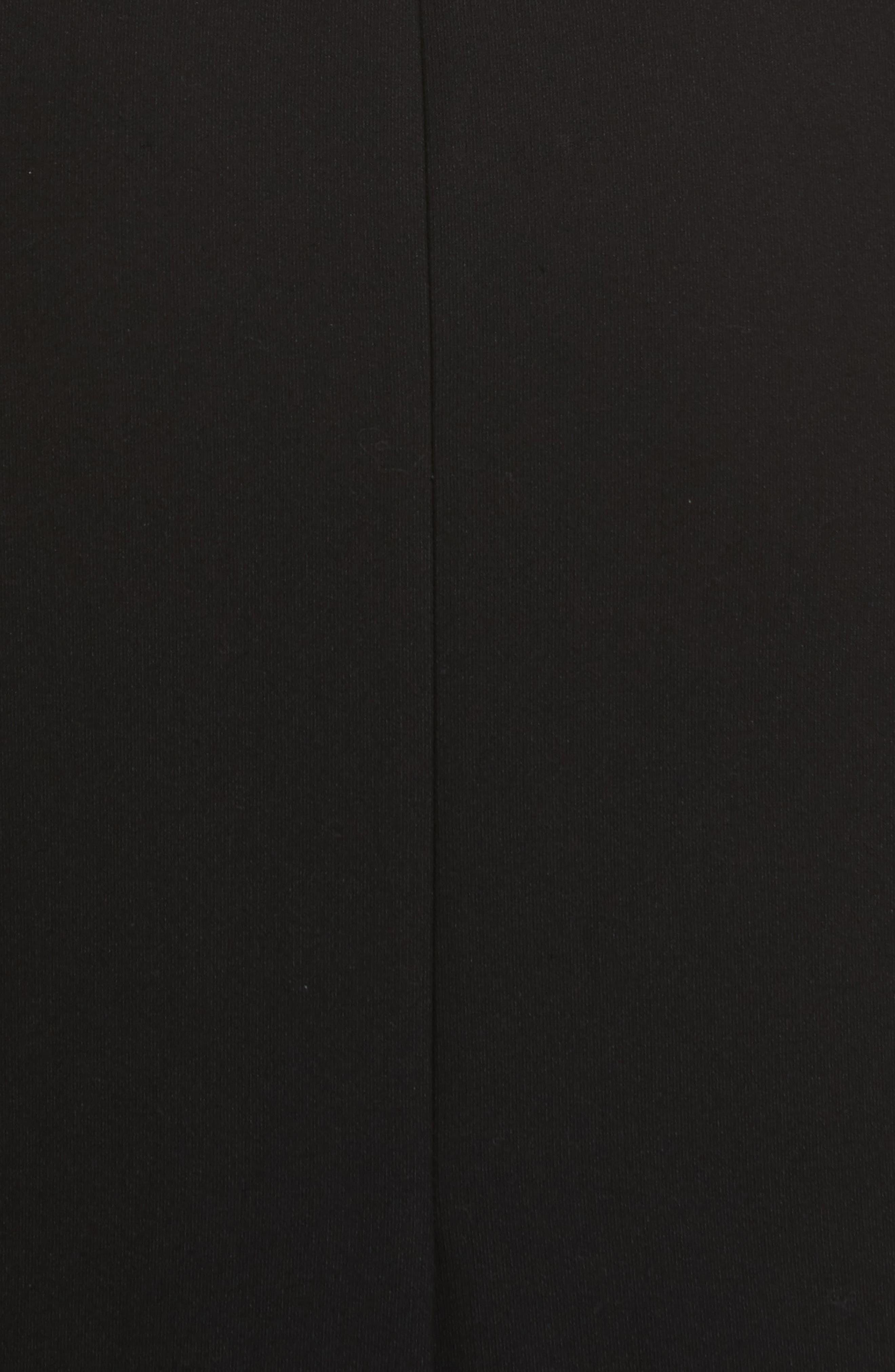 Jolie Marceau Strapless Dress,                             Alternate thumbnail 5, color,                             Black