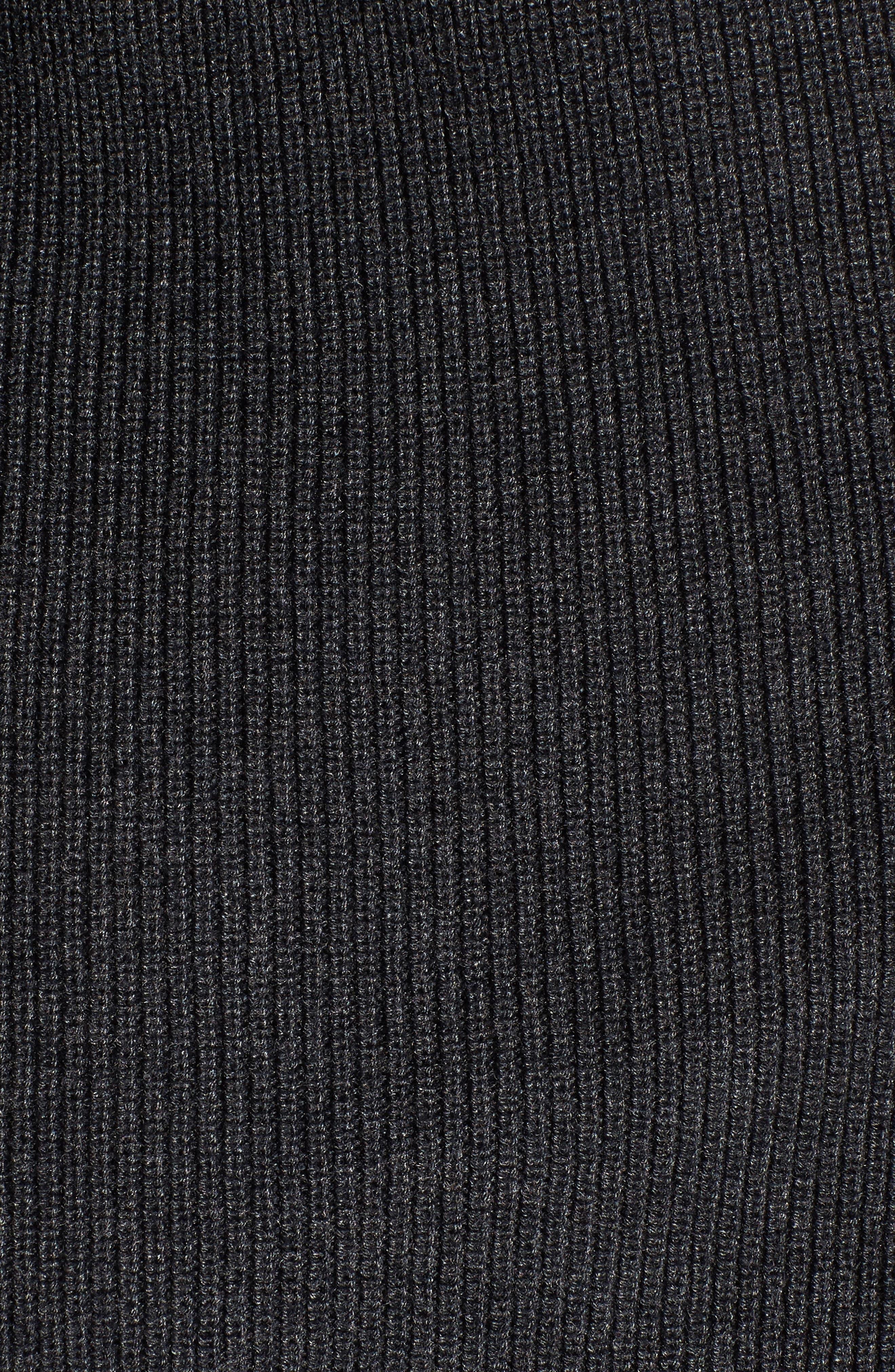 Alternate Image 5  - CeCe Tie Bell Sleeve Cardigan