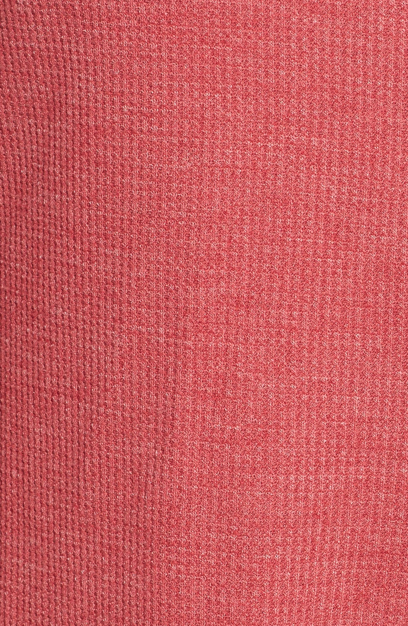 Sleep Shirt,                             Alternate thumbnail 6, color,                             Ruby