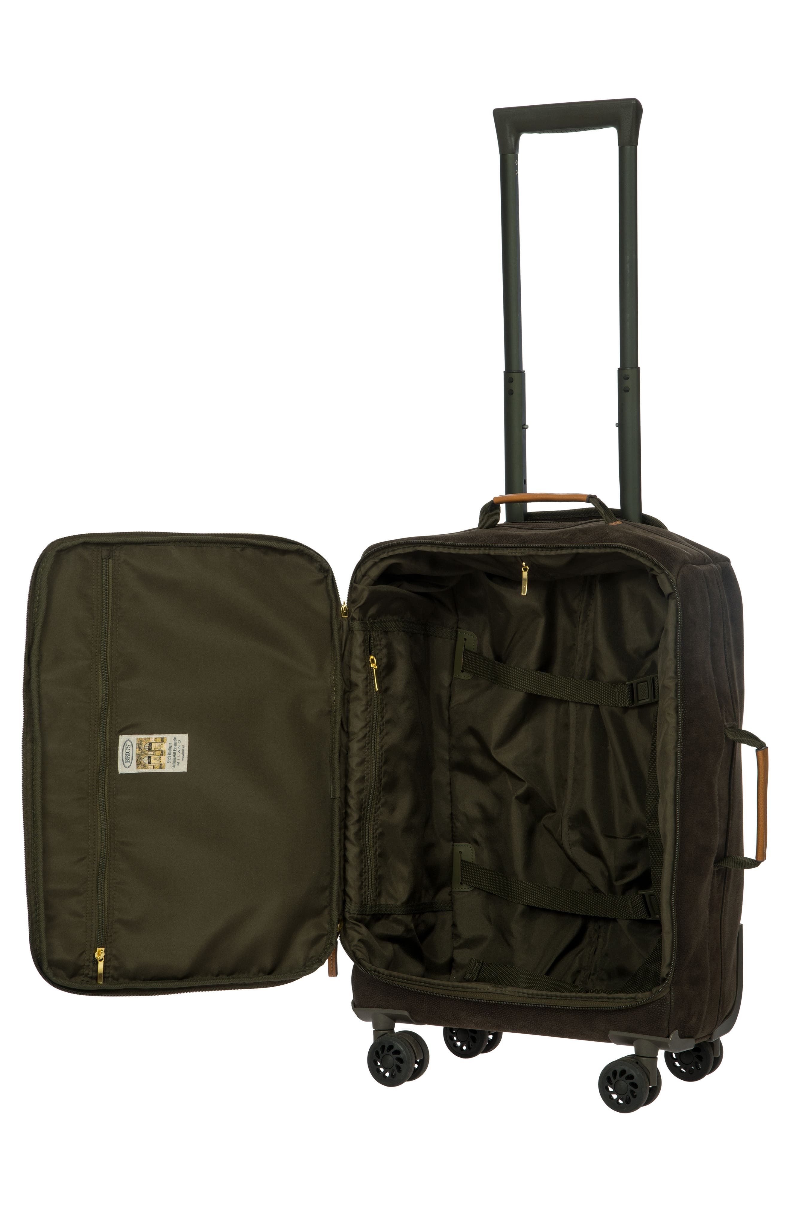 Life Collection Tropea 21-Inch Spinner Carry-On,                             Alternate thumbnail 2, color,                             Olive