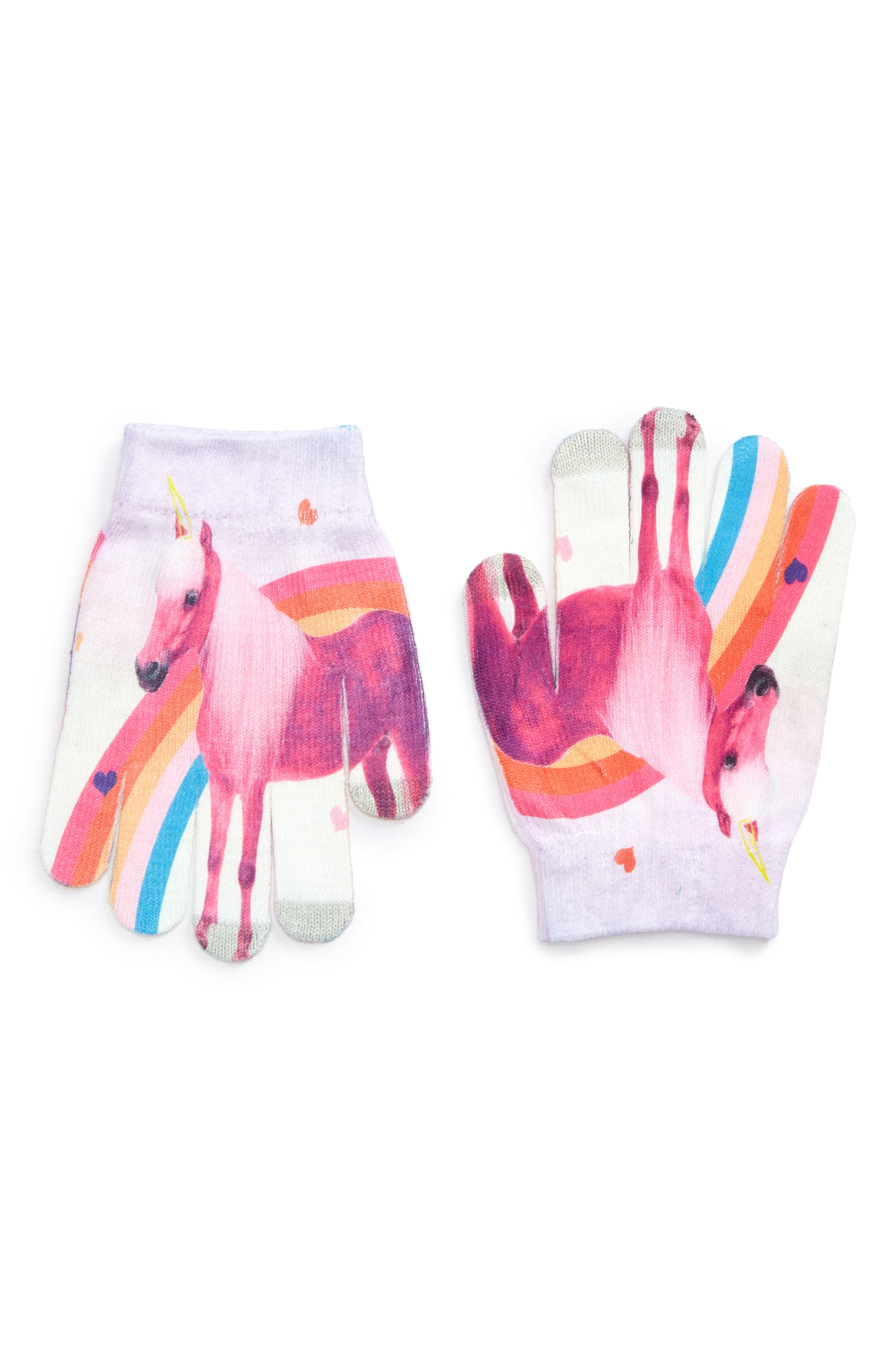 Capelli New York Unicorn Magic Gloves (Girls)