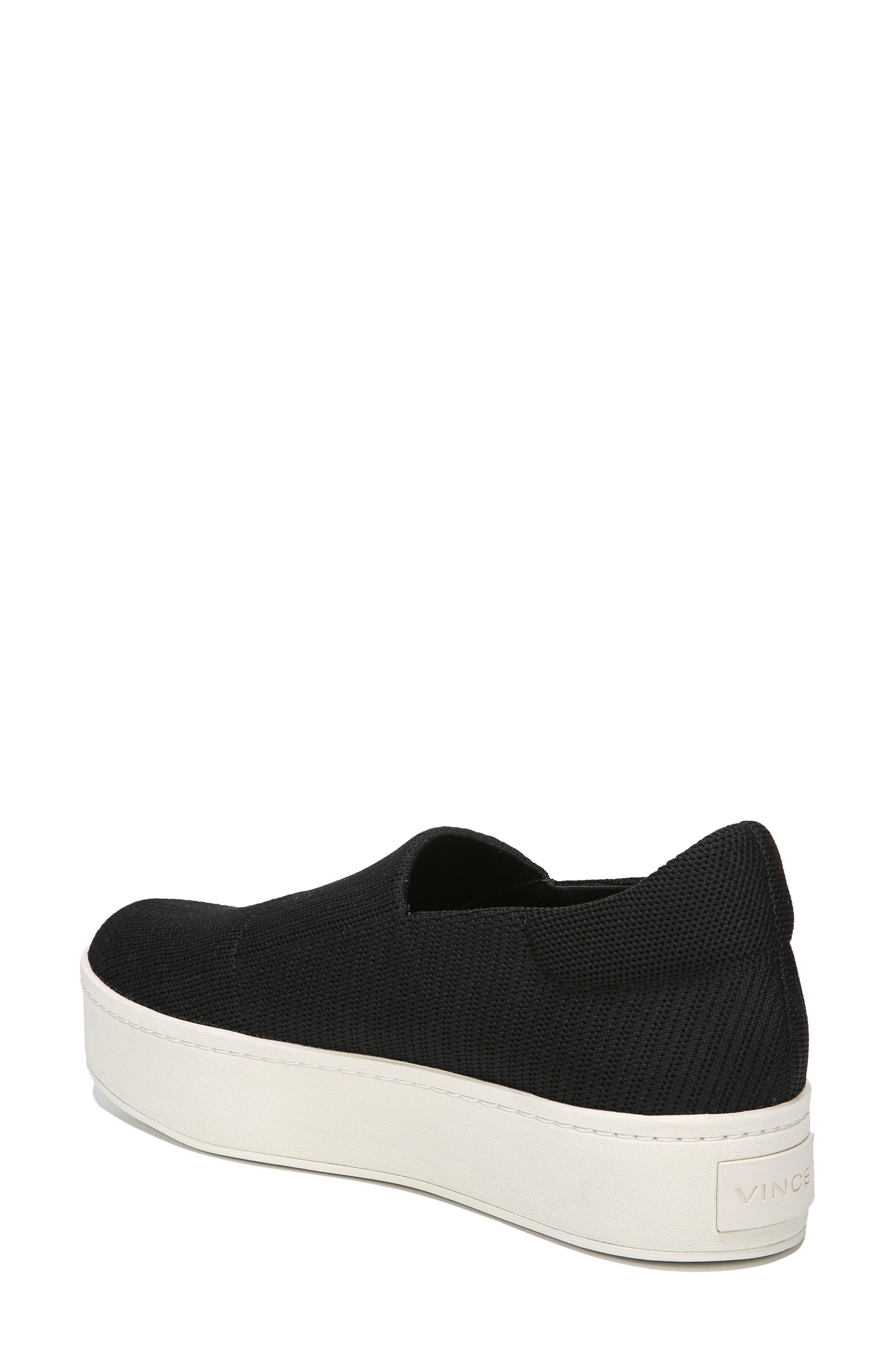 Walsh Slip-On Sneaker,                             Alternate thumbnail 2, color,                             Black