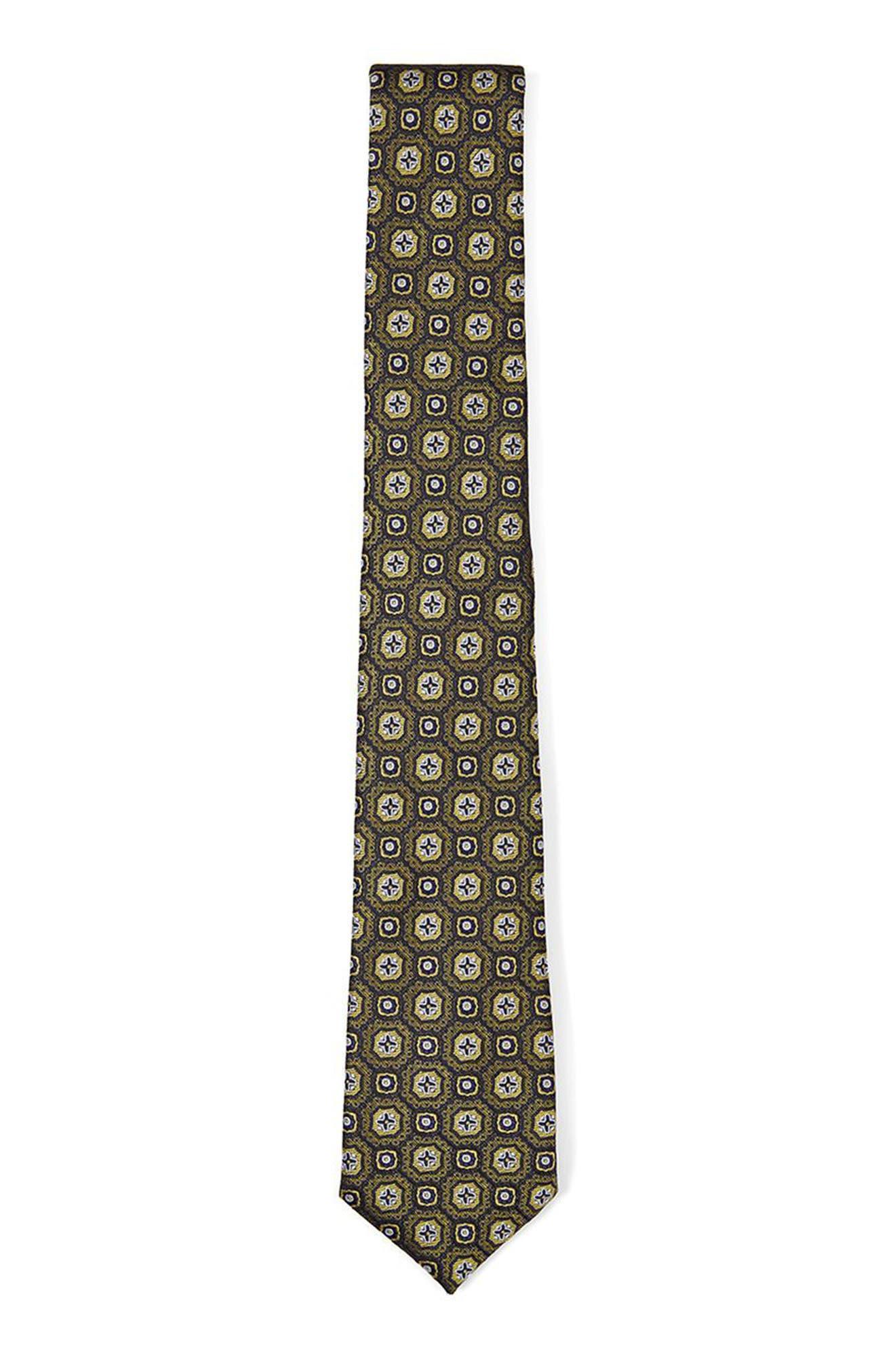 Alternate Image 1 Selected - Topman Paisley Jacquard Tie