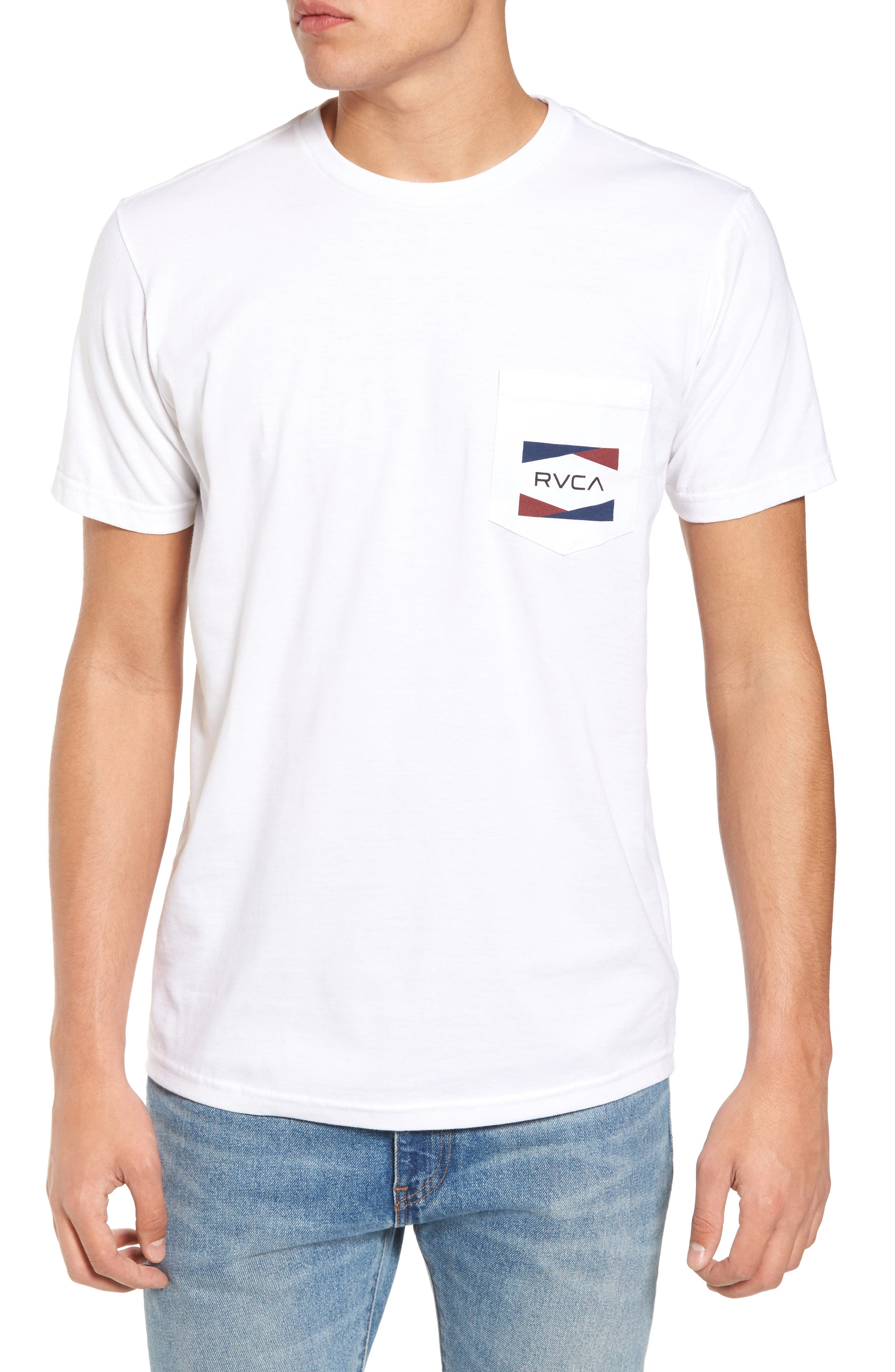 RVCA Nation 2 Graphic Pocket T-Shirt